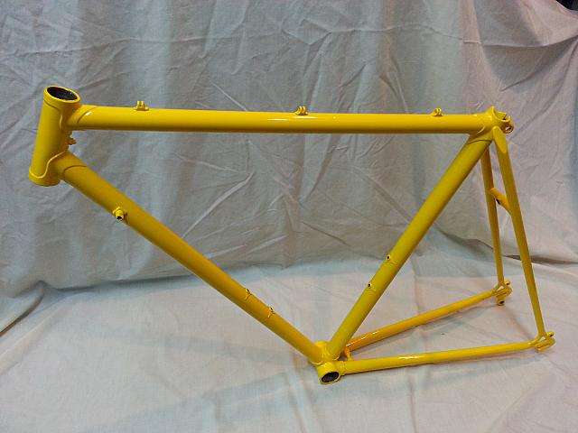 Yokota Legend, Yellow Powder Coat