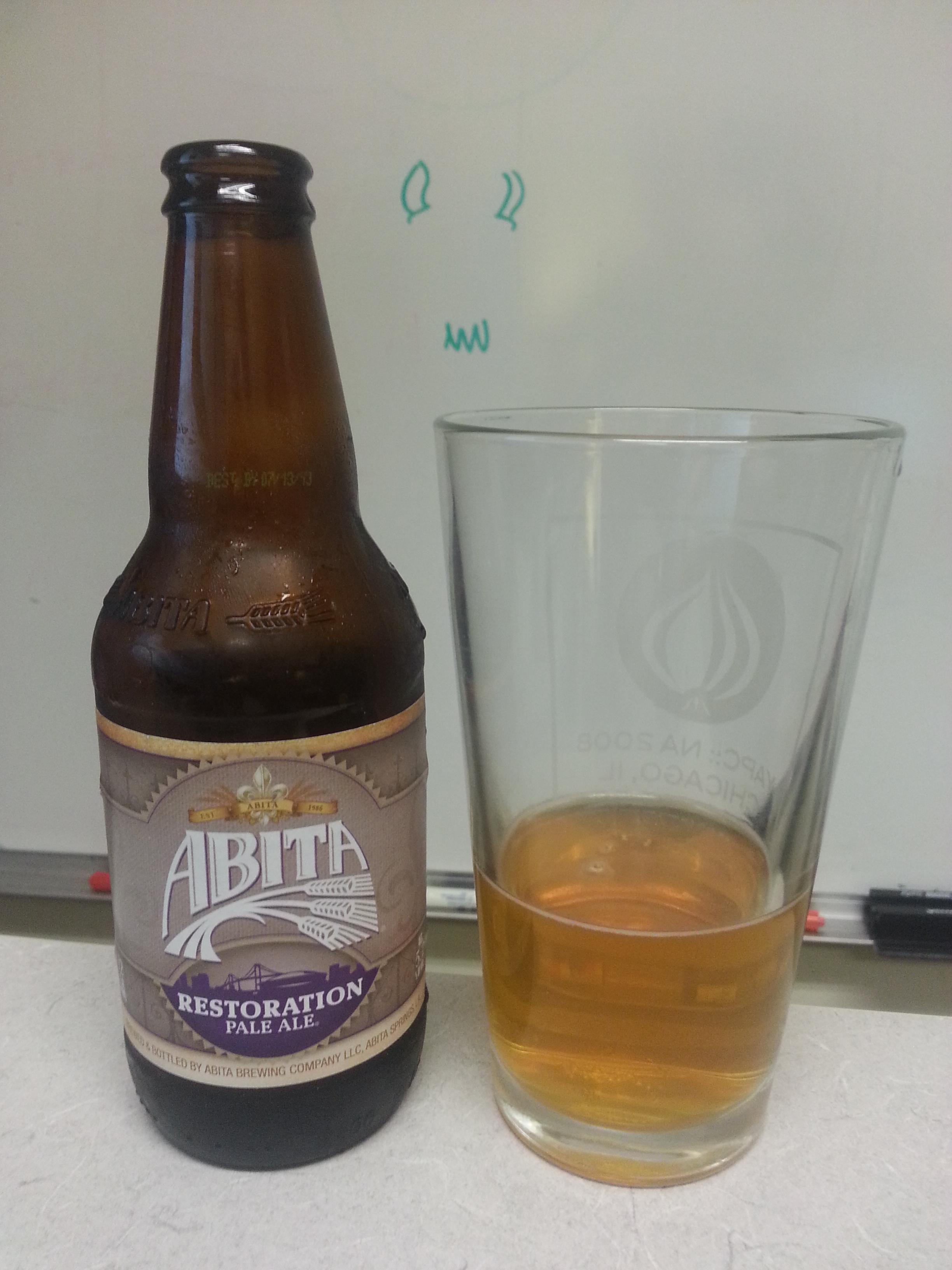 Restoration Pale Ale