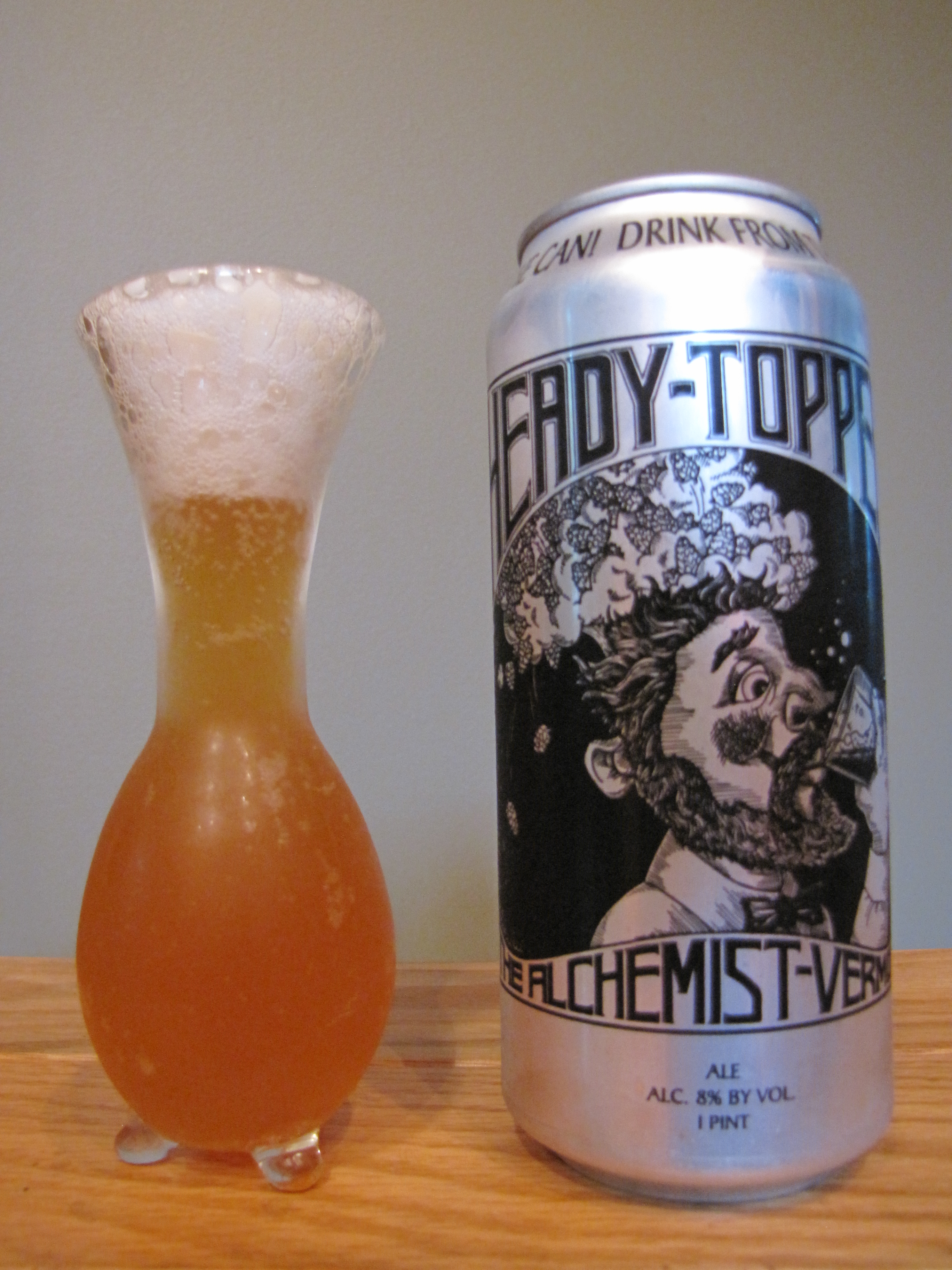 The Alchemist Heady Topper Imperial IPA
