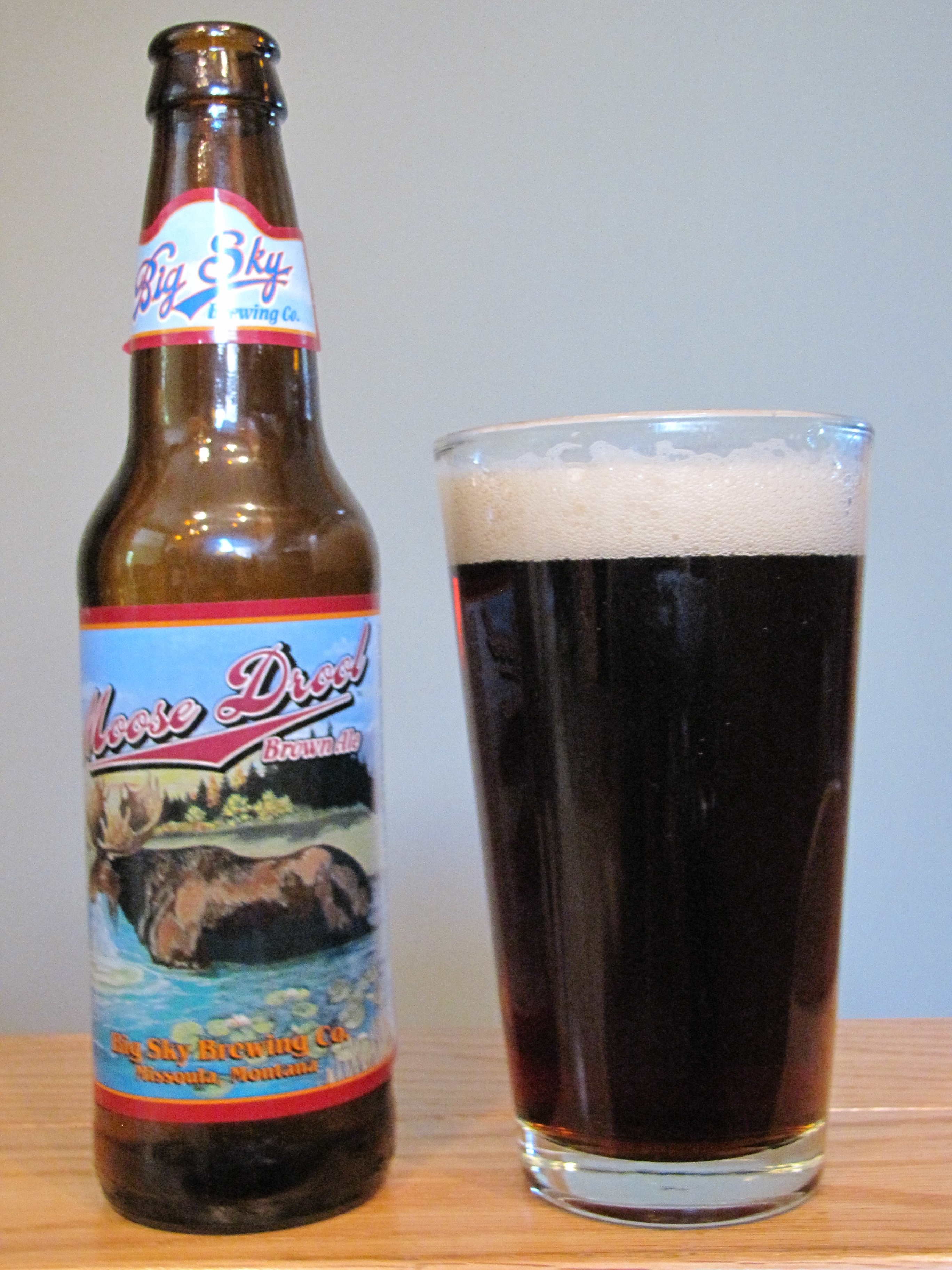 Big Sky Moos Drool Brown Ale