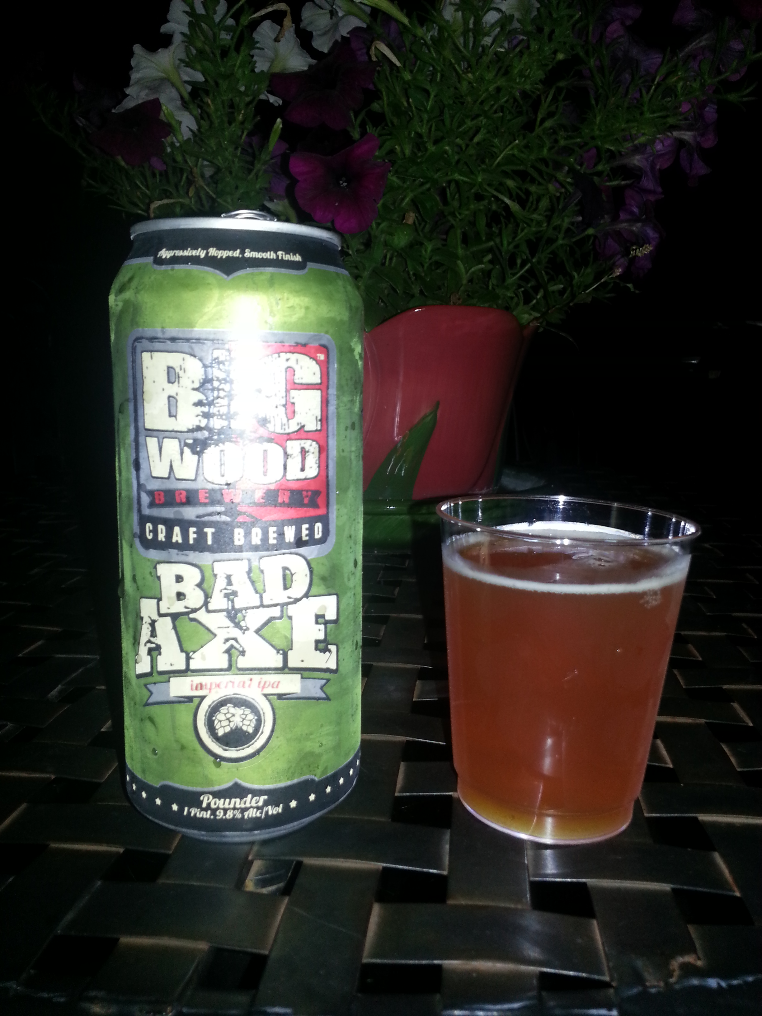 Big Wood Bad Axe Imperial IPA