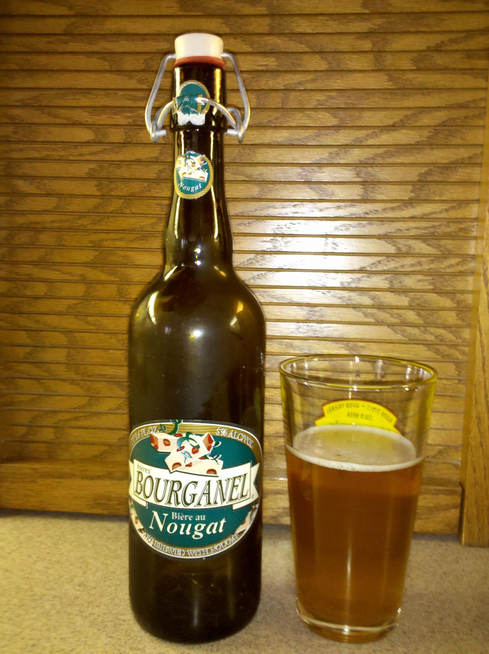 Bourganel Biere Au Nougat