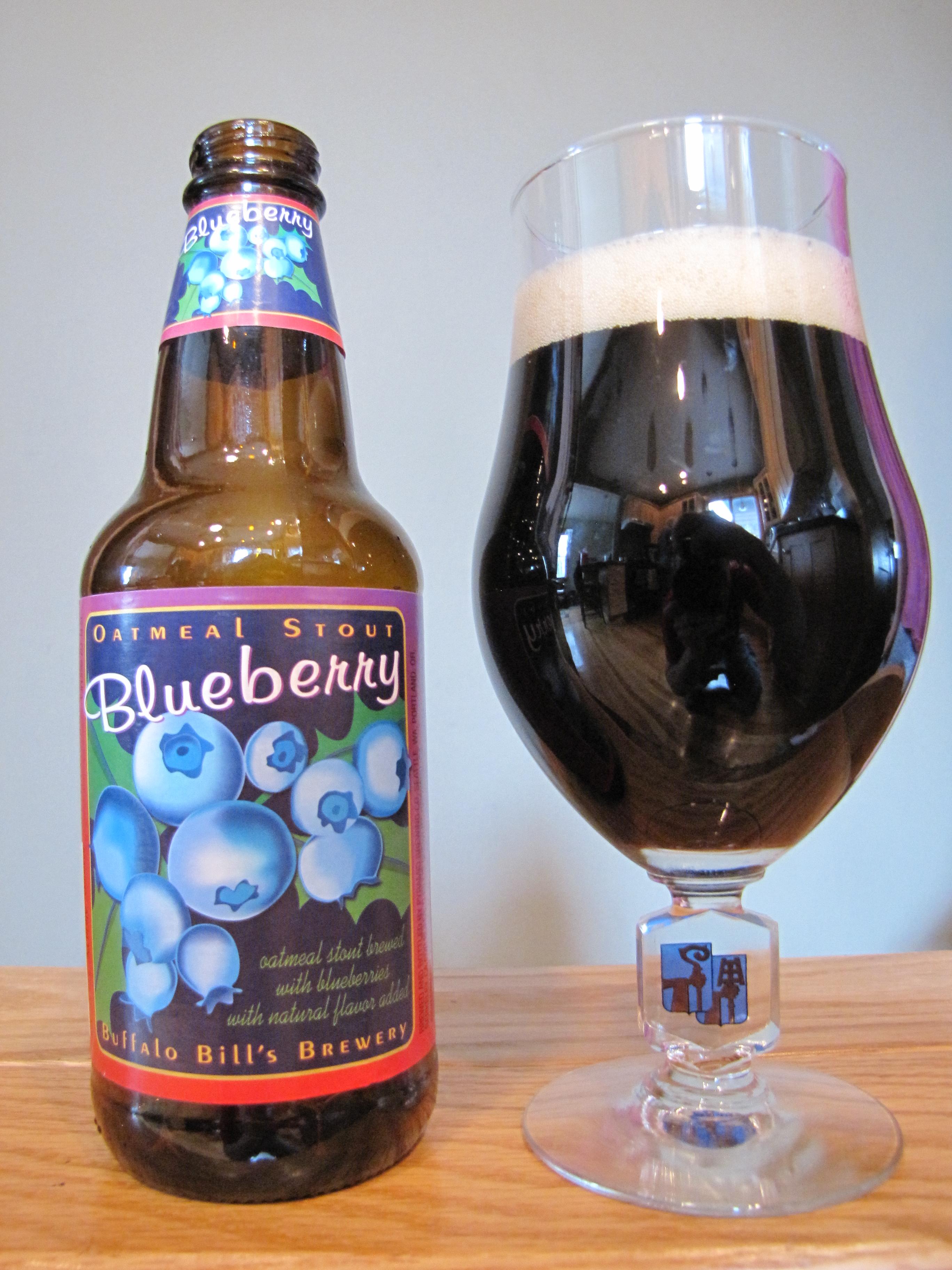 Buffalo Bill's Blueberry Oatmeal Stout