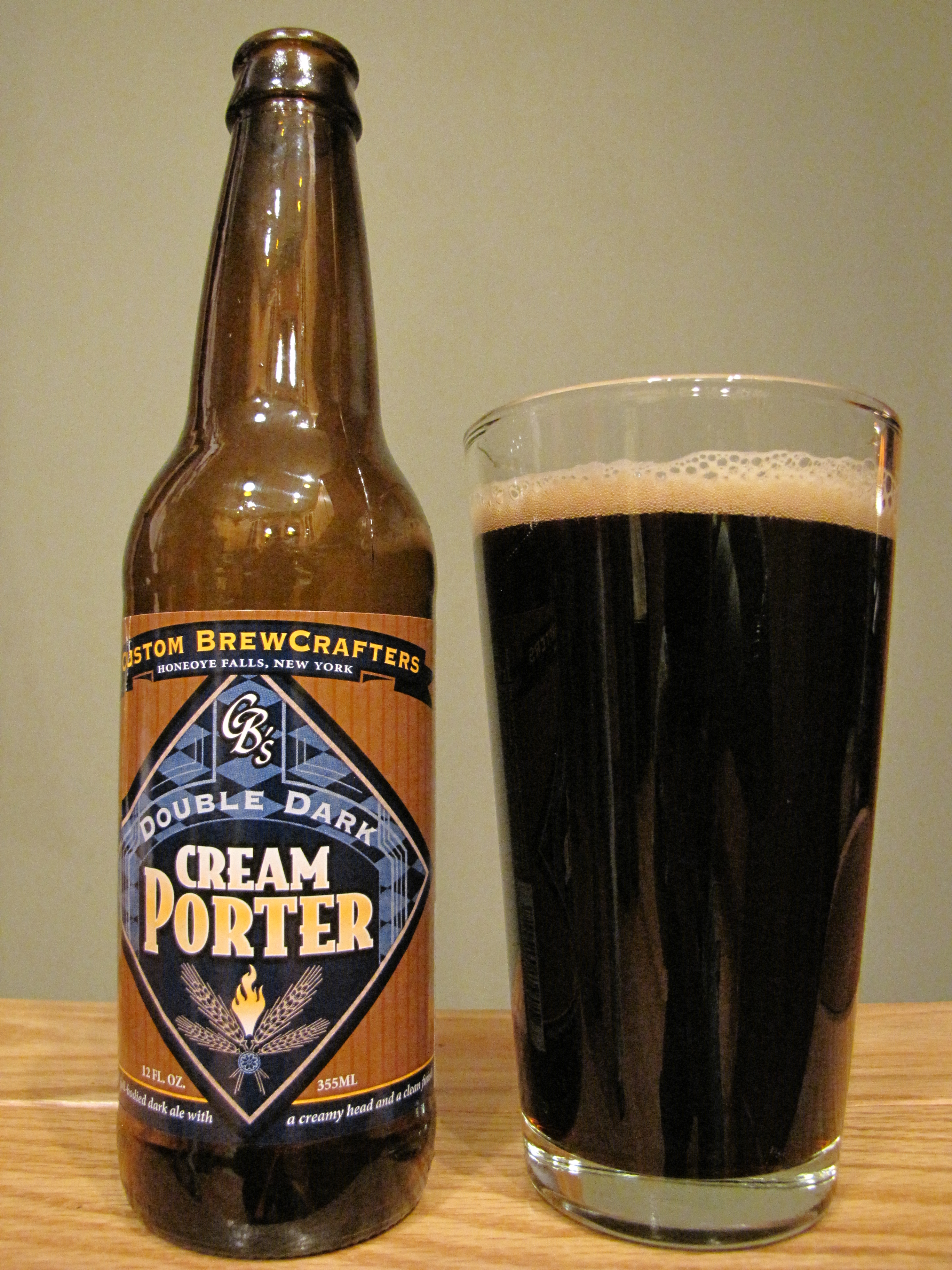 Custom Brewcrafters Double Dark Cream Porter