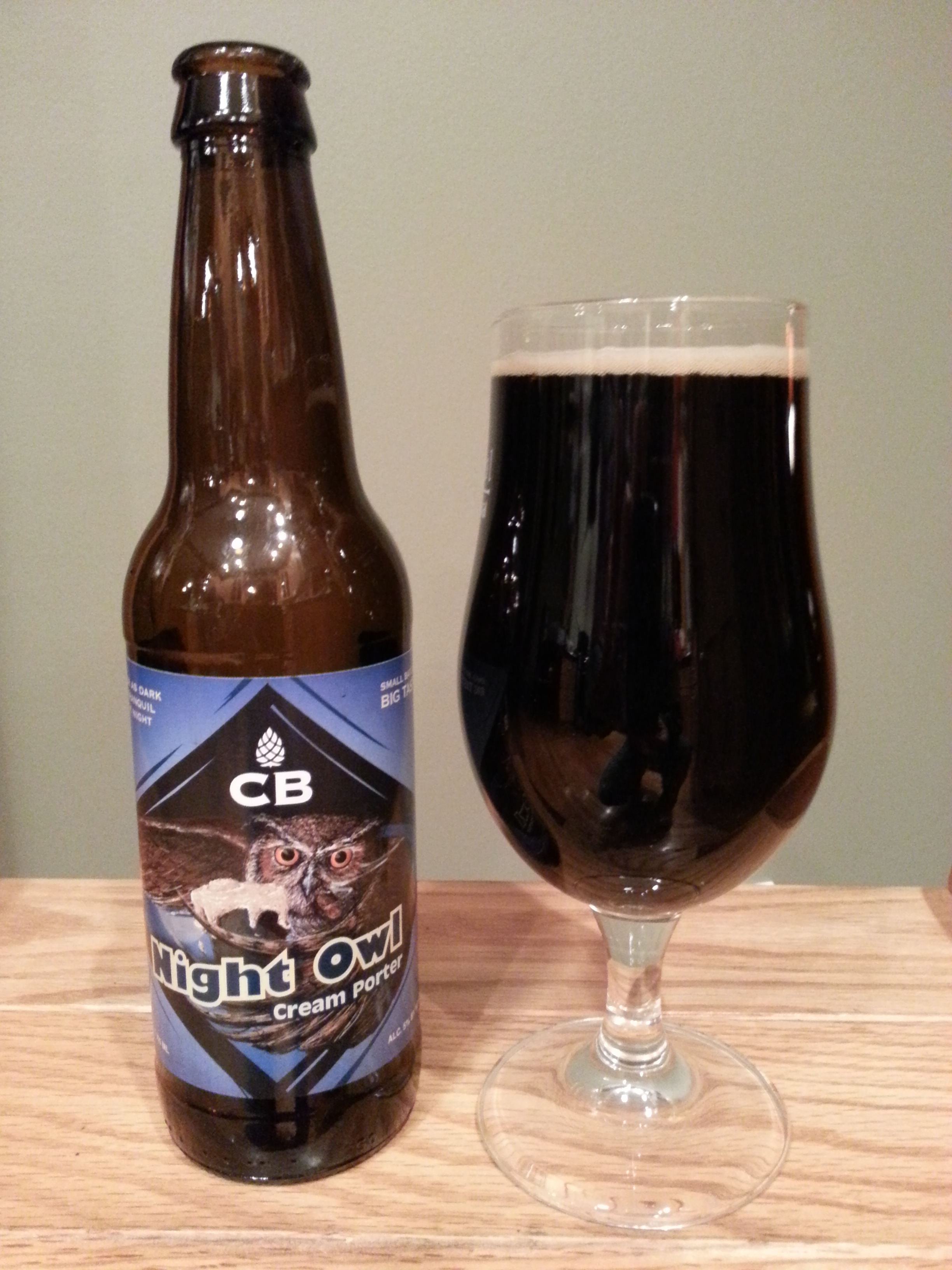Custom Brewcrafters Night Owl Cream Porter
