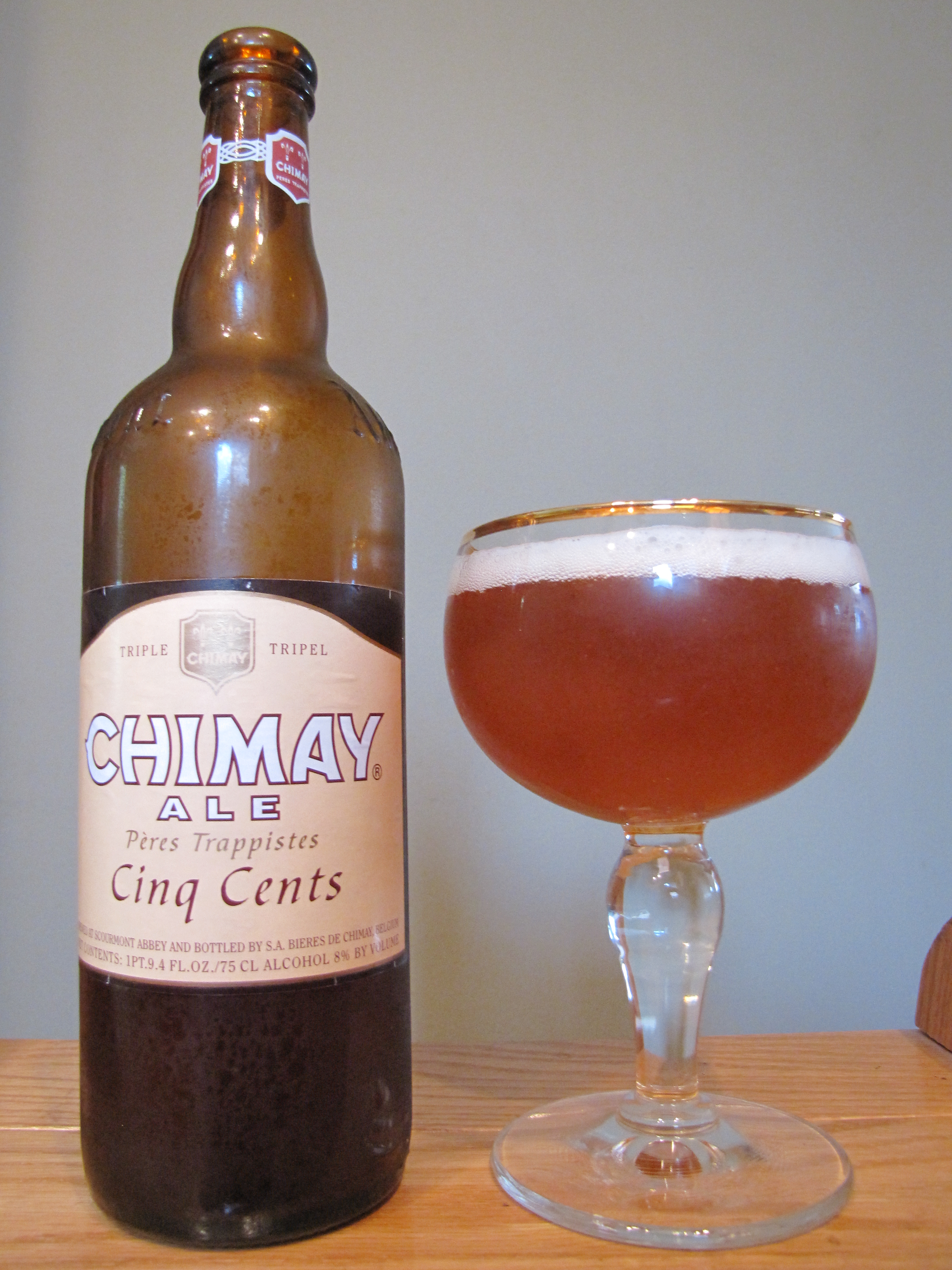 Chimay Tripel (White) Cinq Cents