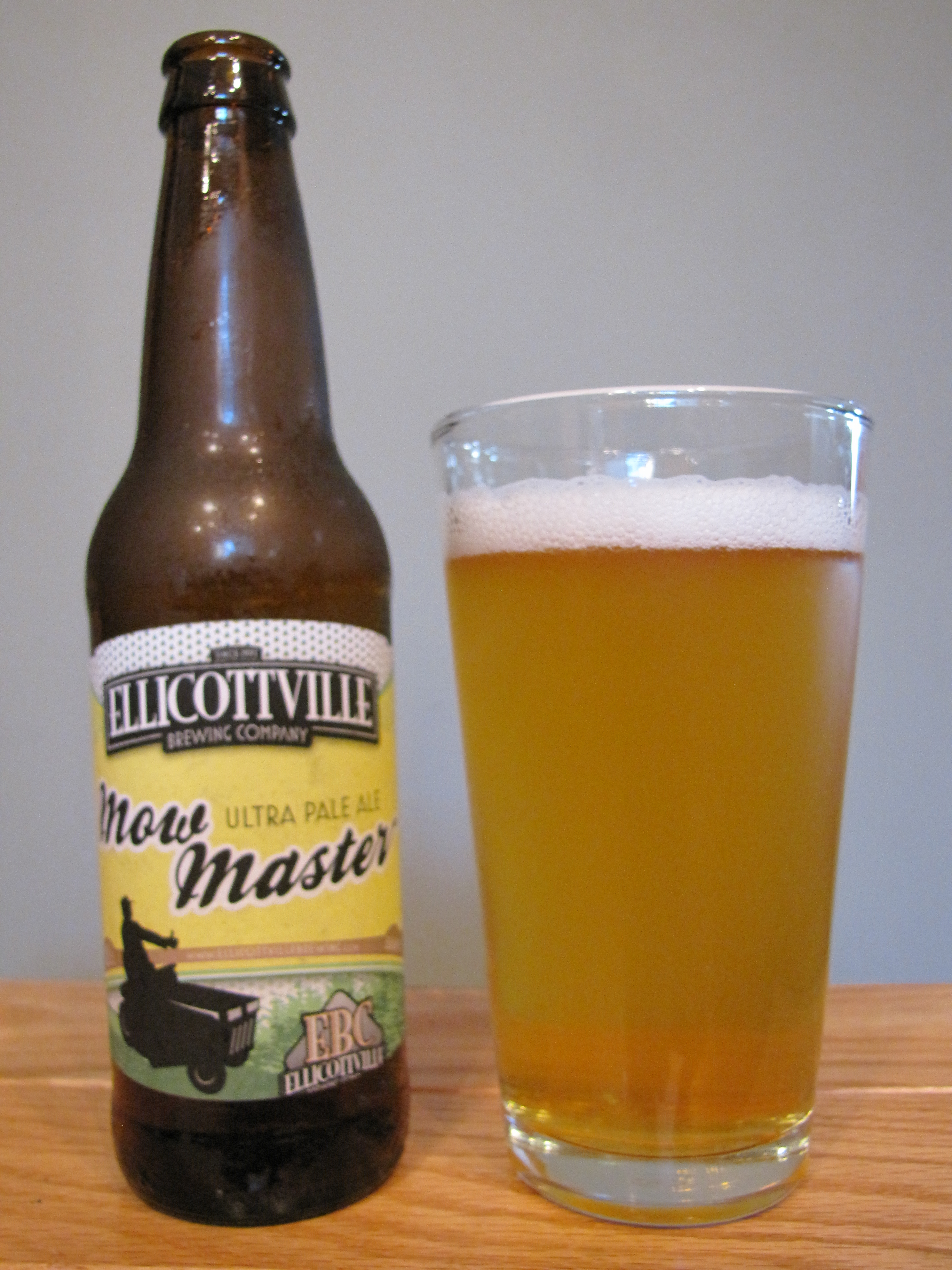 Ellicottville Mowmasters Ultra Pale Ale