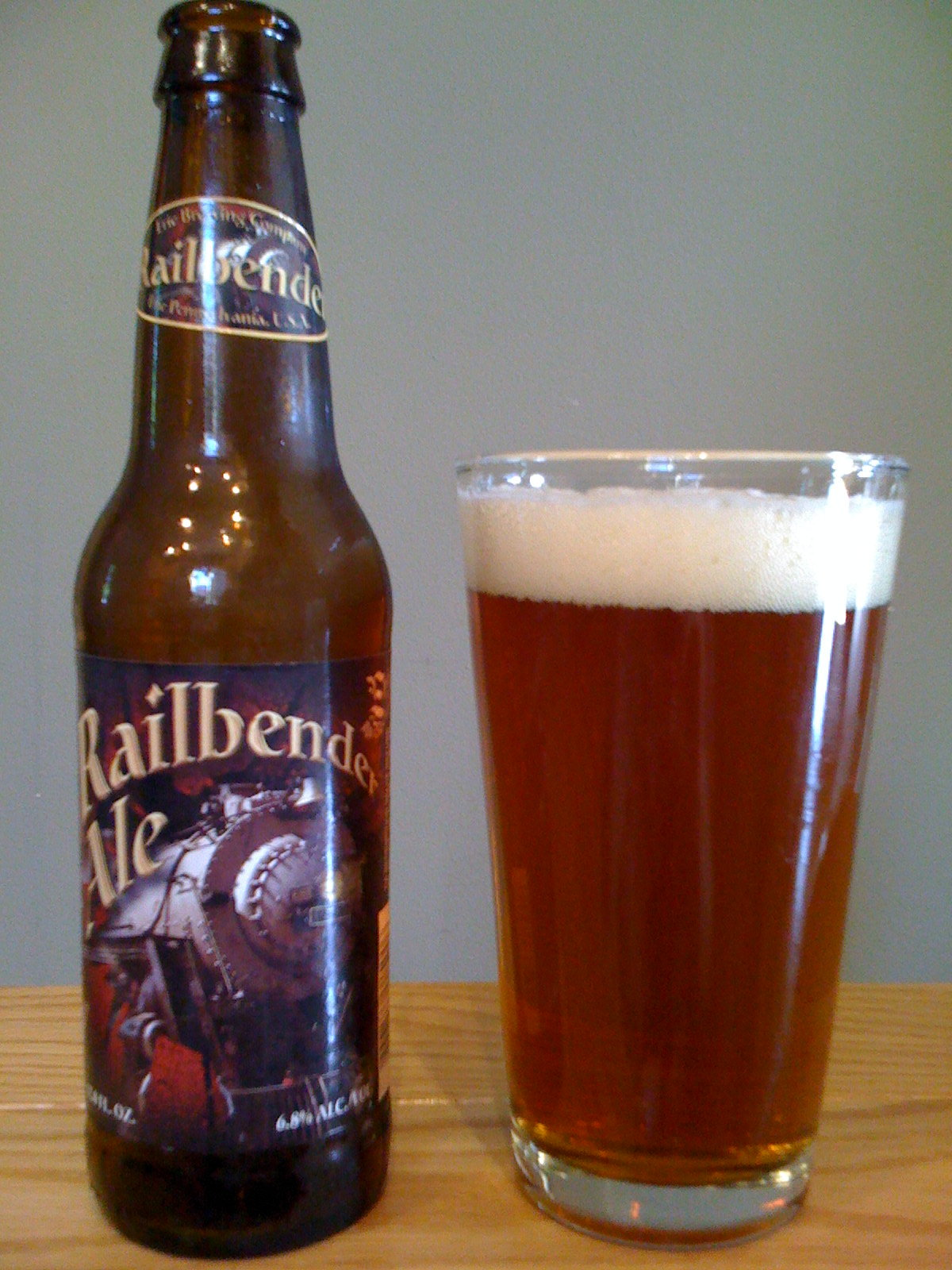 Erie Brewing Railbender Ale