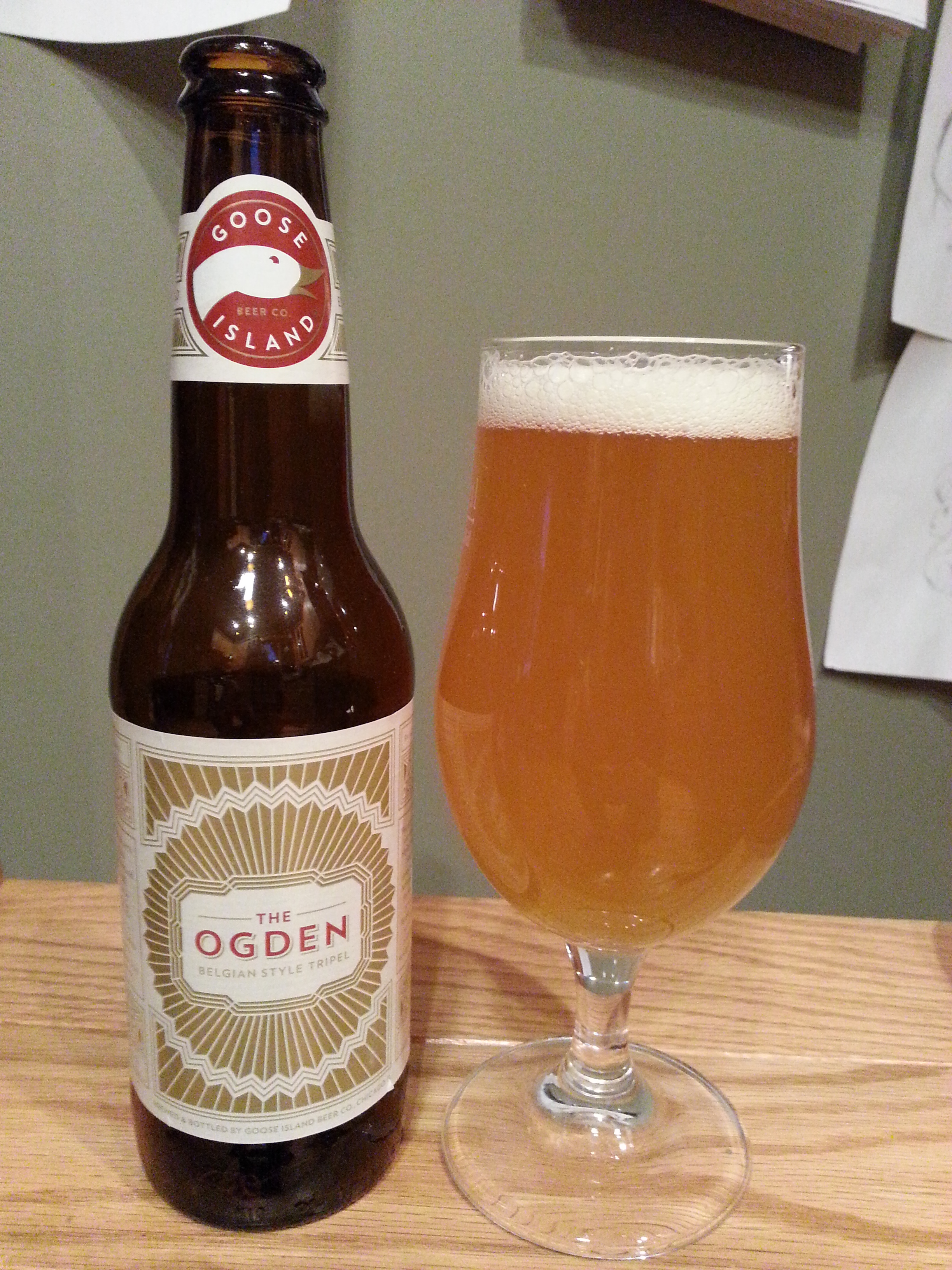 Goose Island The Ogden Belgian Triple