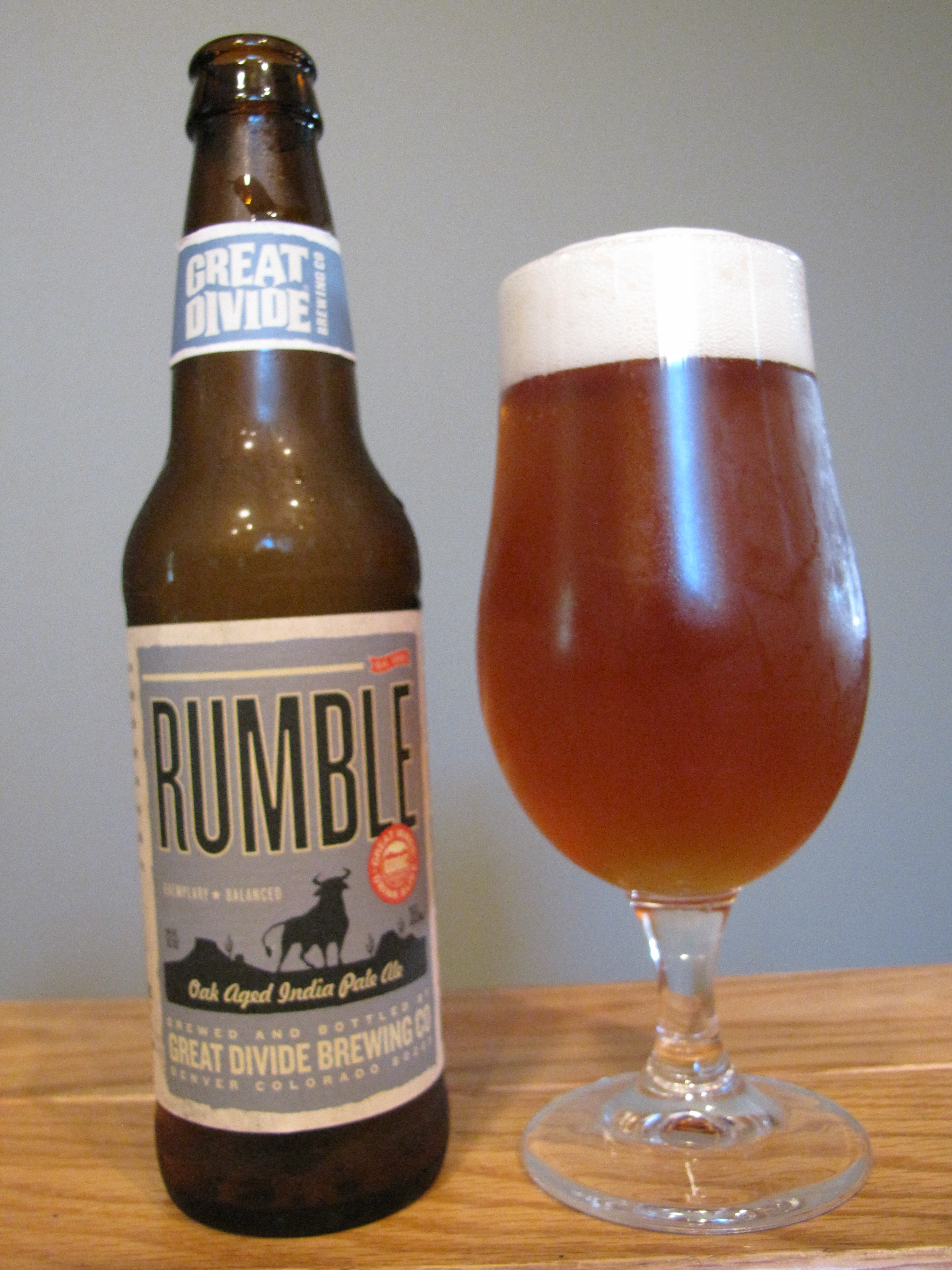 Great Divide Rumble Oak Aged IPA