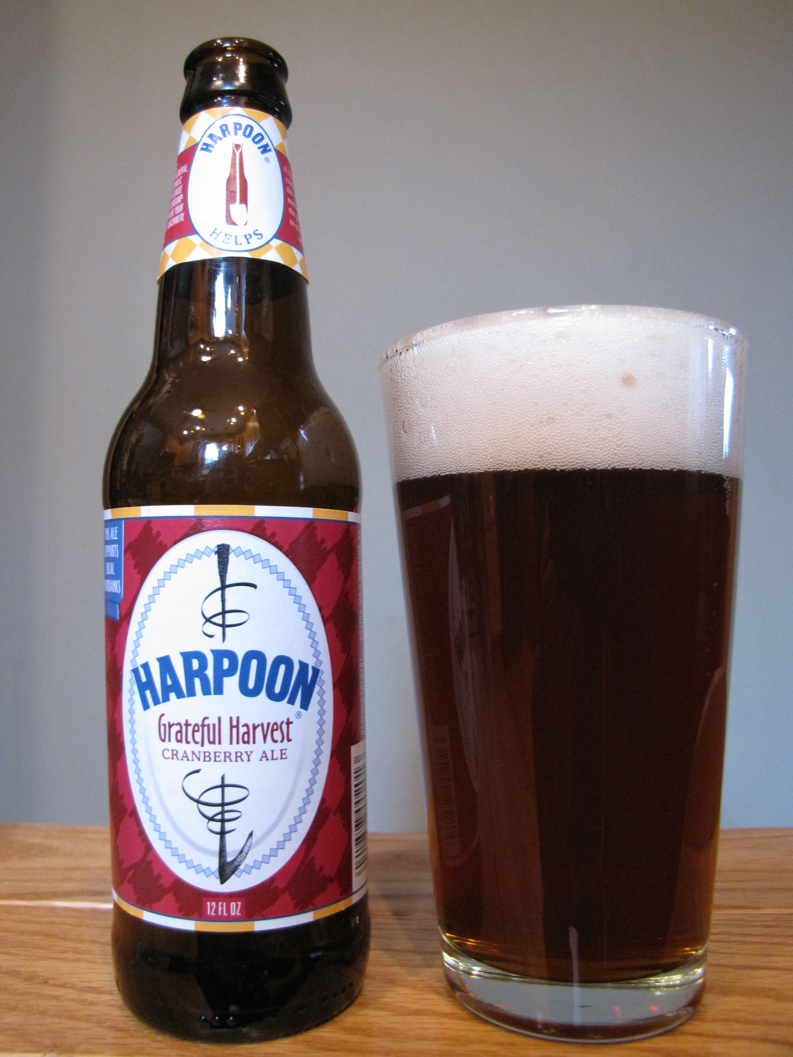 Harpoon Grateful Harvest Cranberry Ale