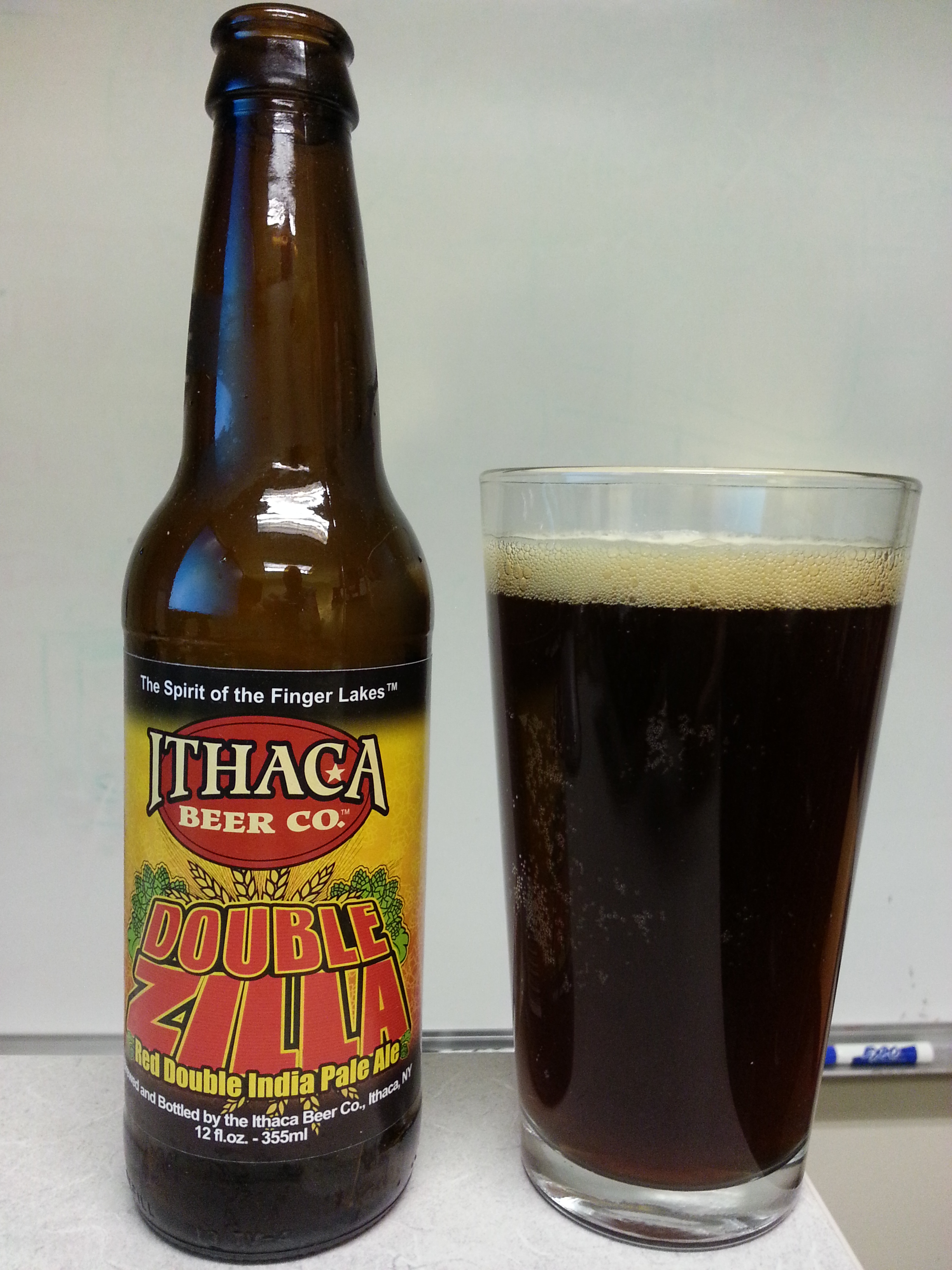 Ithaca Double Zilla Red Double IPA
