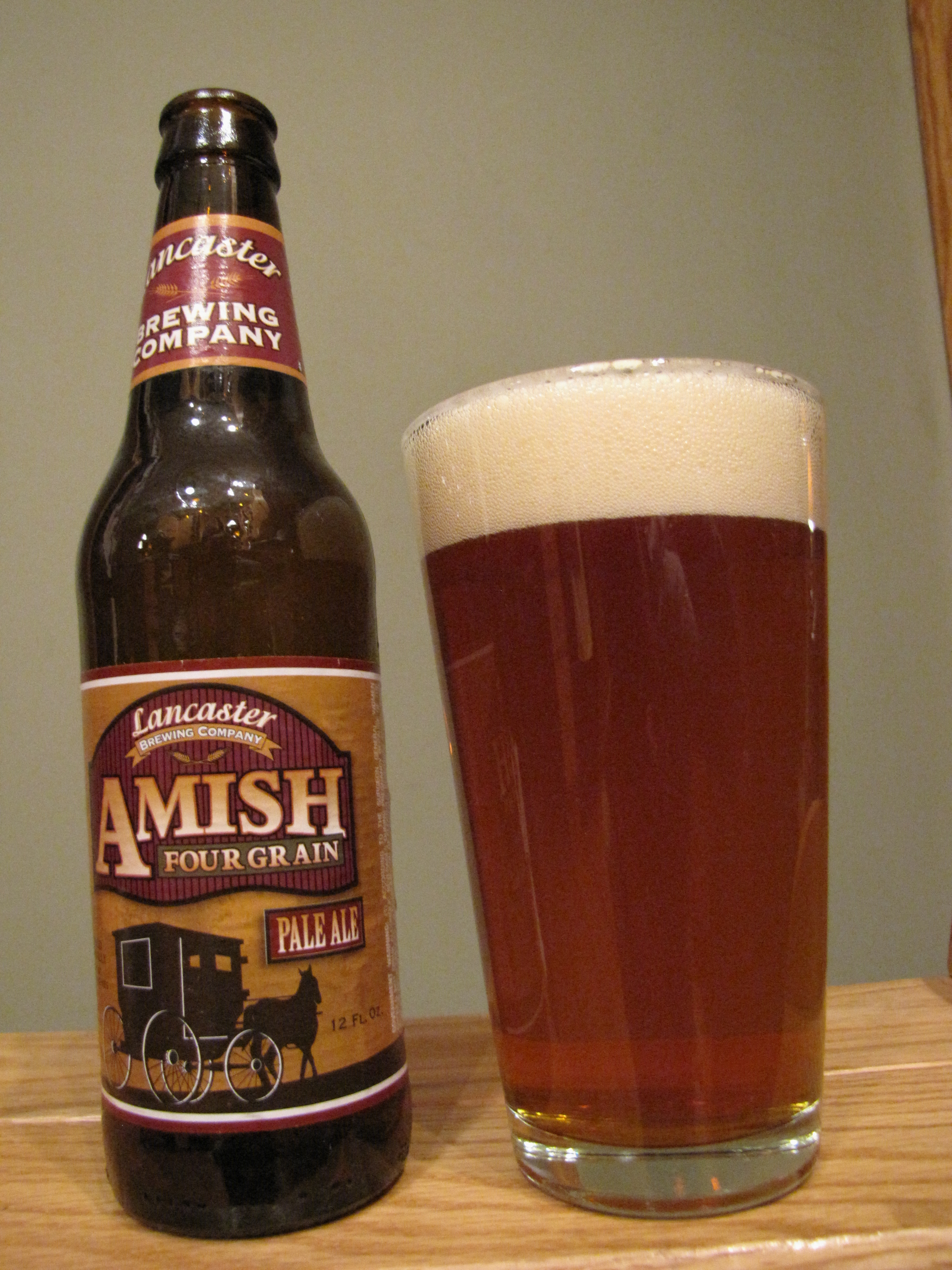 Lancaster Amish Four Grain Pale Ale