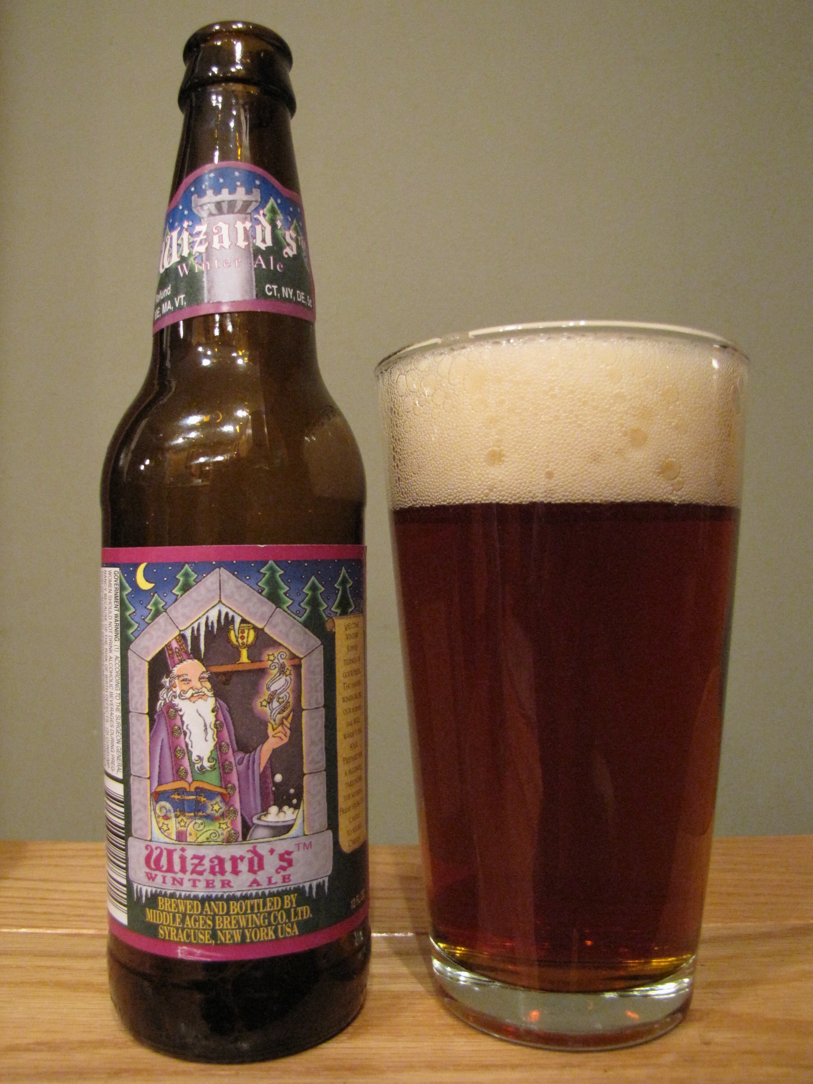 Middle Ages Wizard's Winter Ale