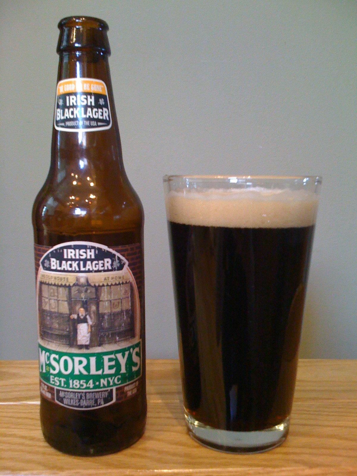 McSorley's Irish Black Lager