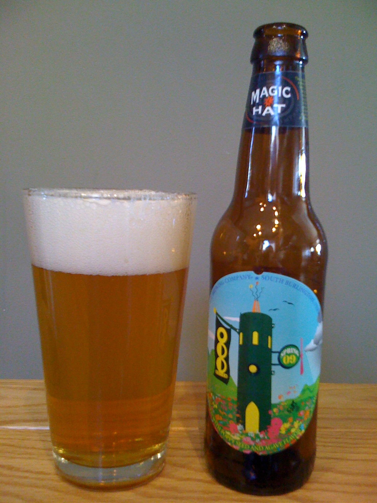 Magic Hat Odd Notion - Poppy Agave Pilsner (Spring 09)