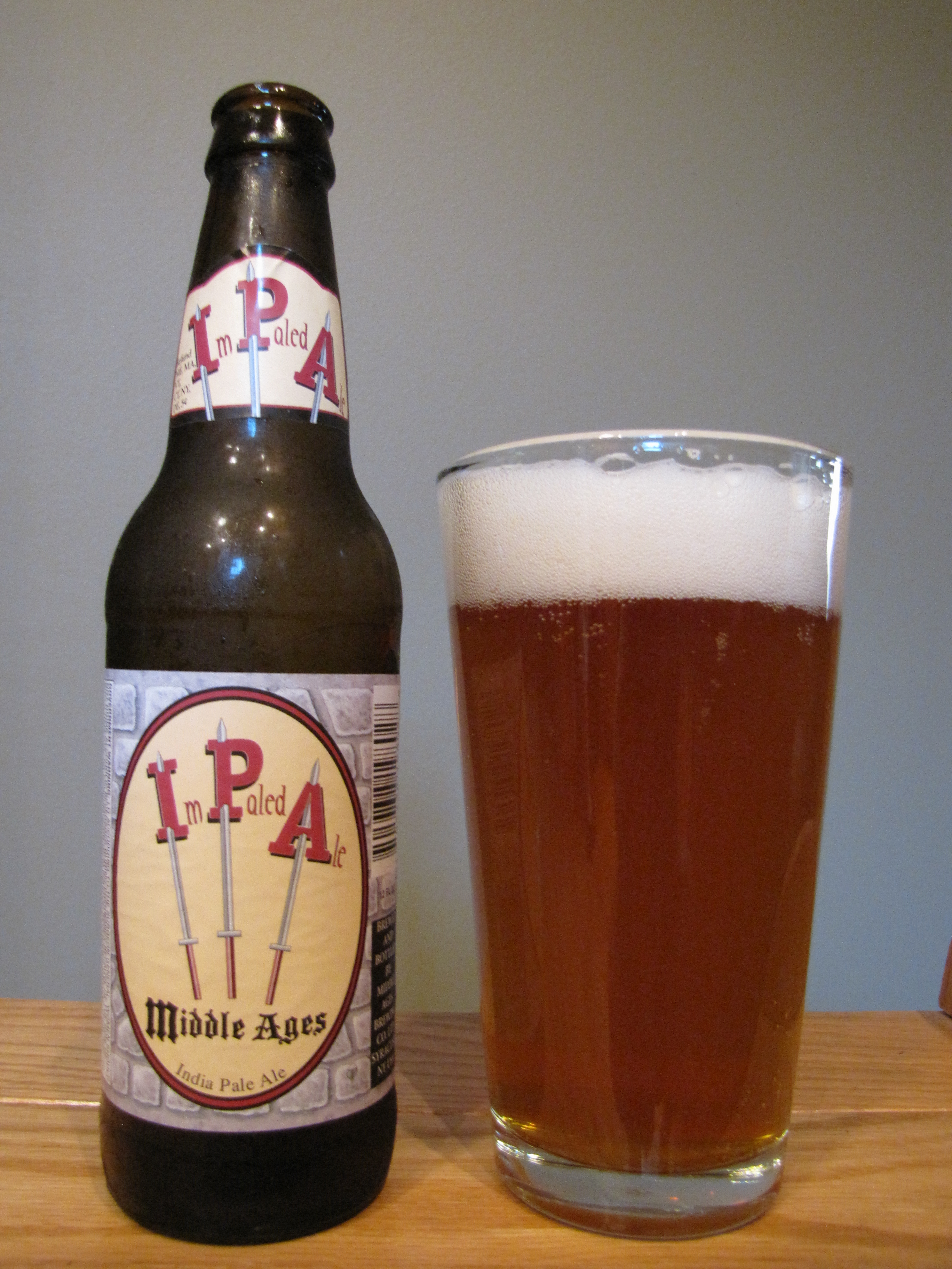 Middle Ages Impaled Ale