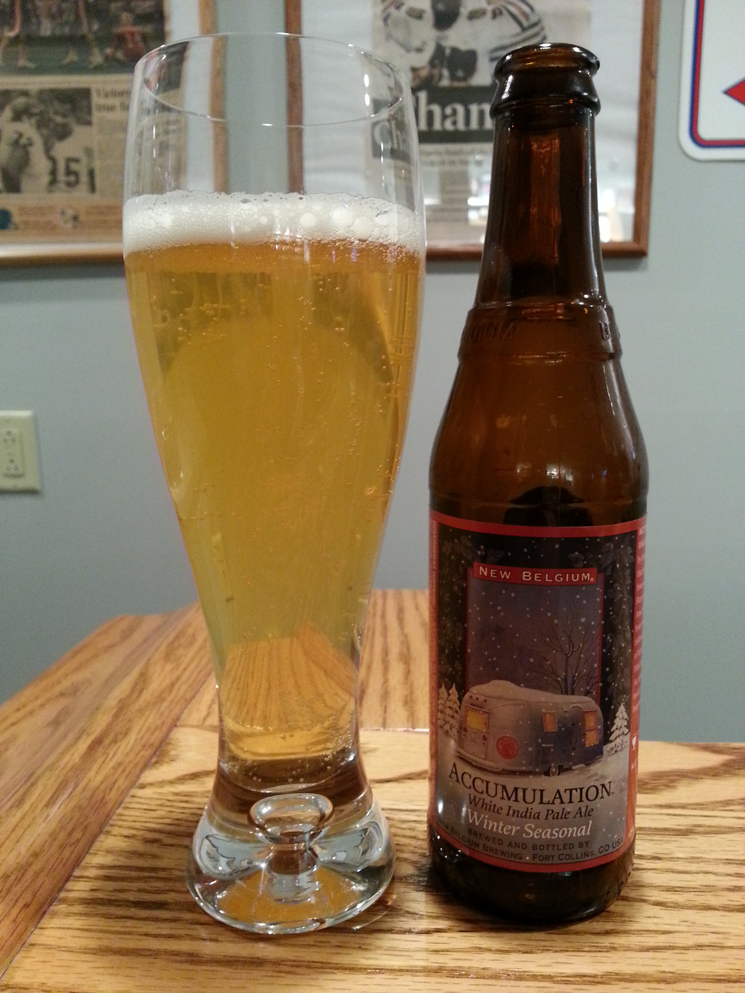 New Belgium Accumulation White IPA