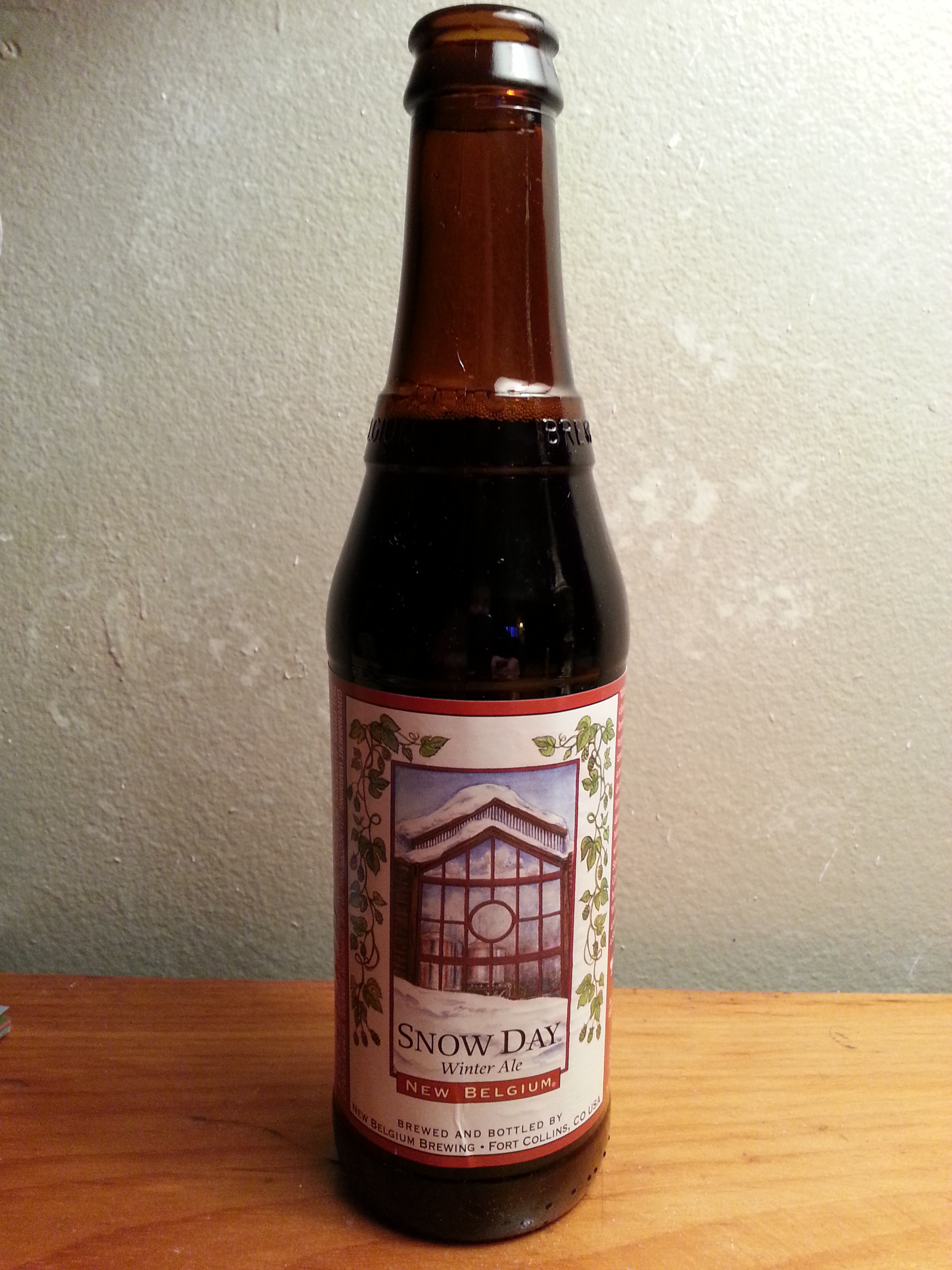New Belgium Snow Day Winter Ale