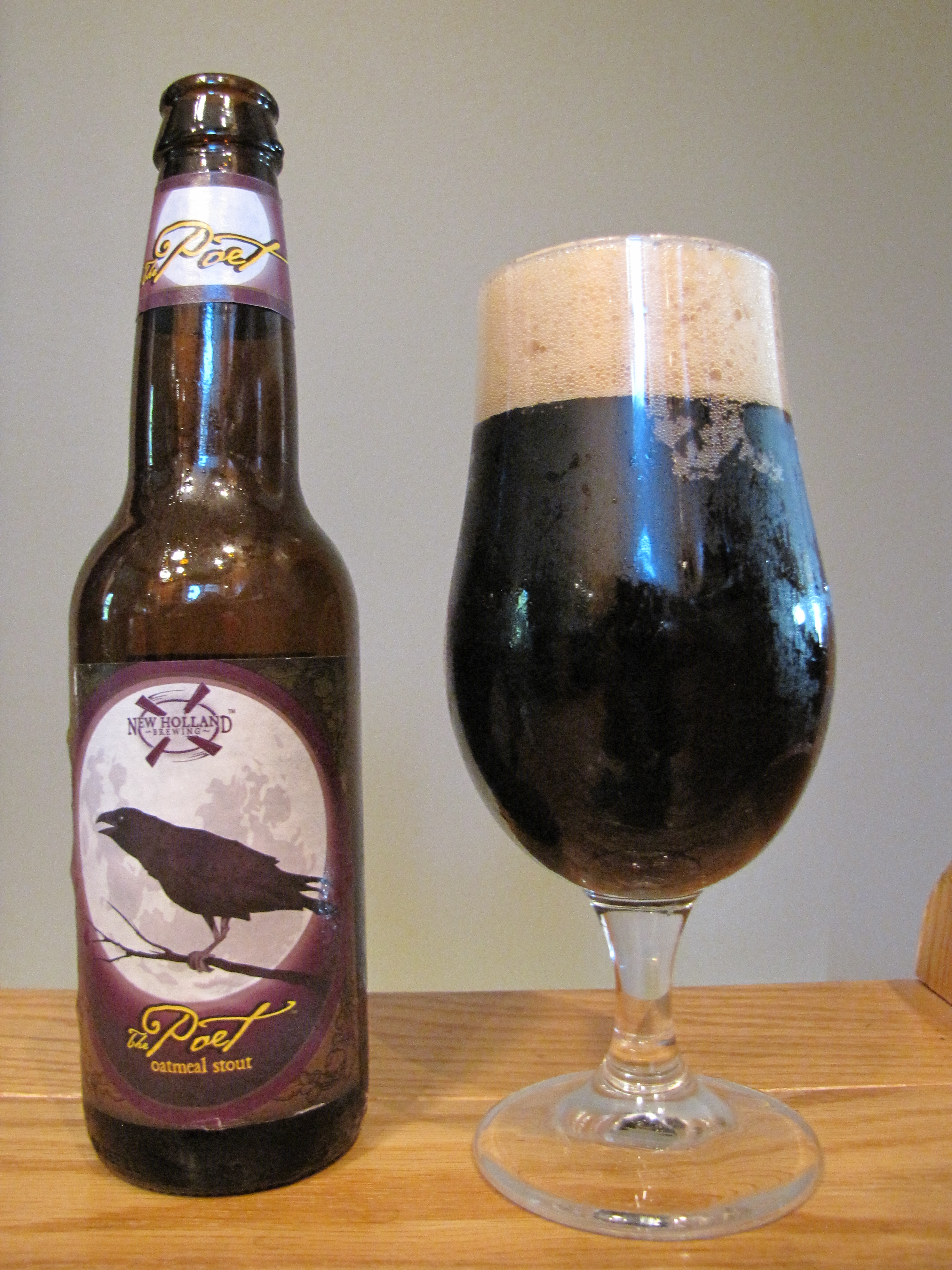New Holland The Poet Oatmeal Stout