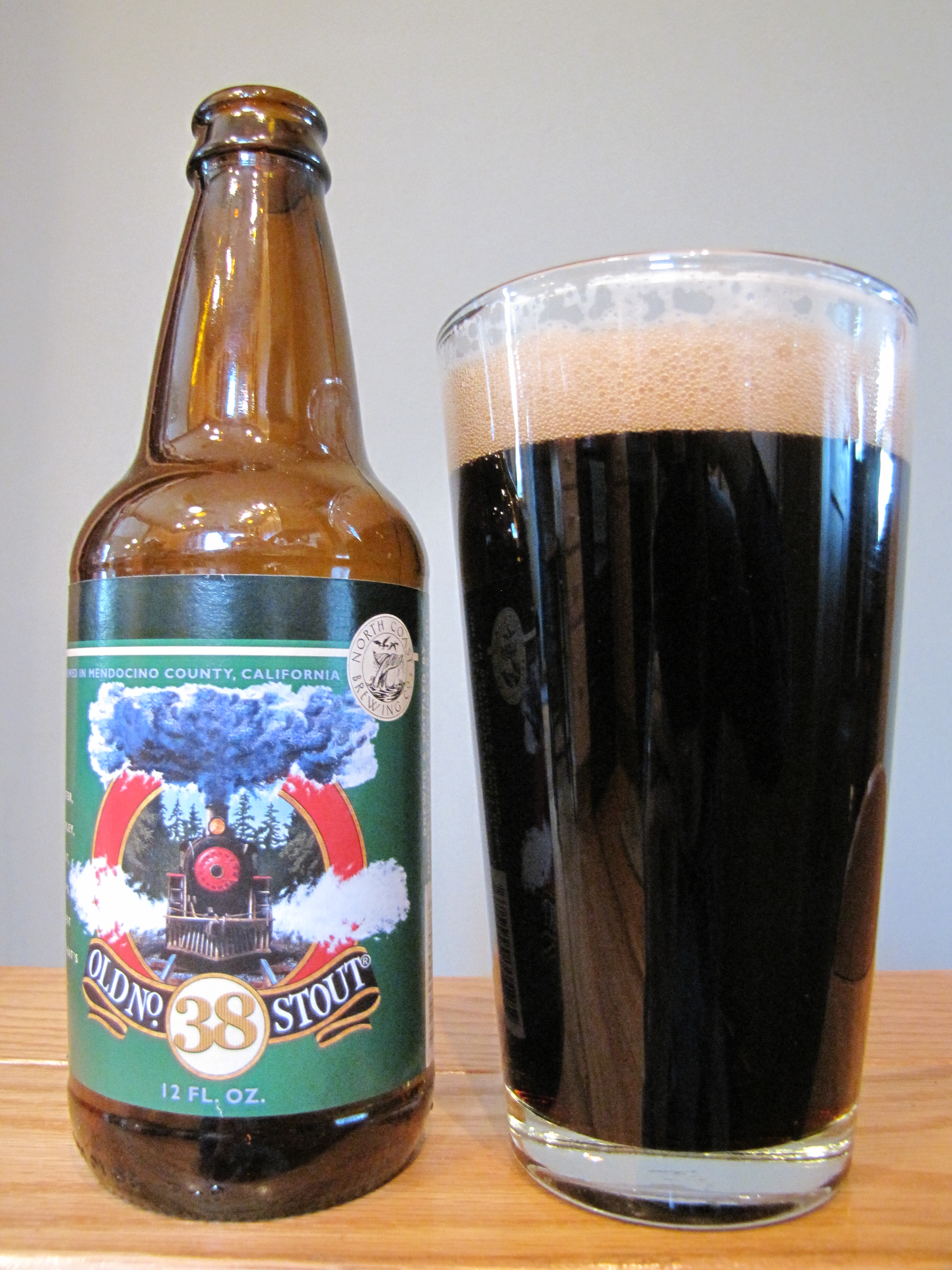 North Coast Old No. 38 Stout