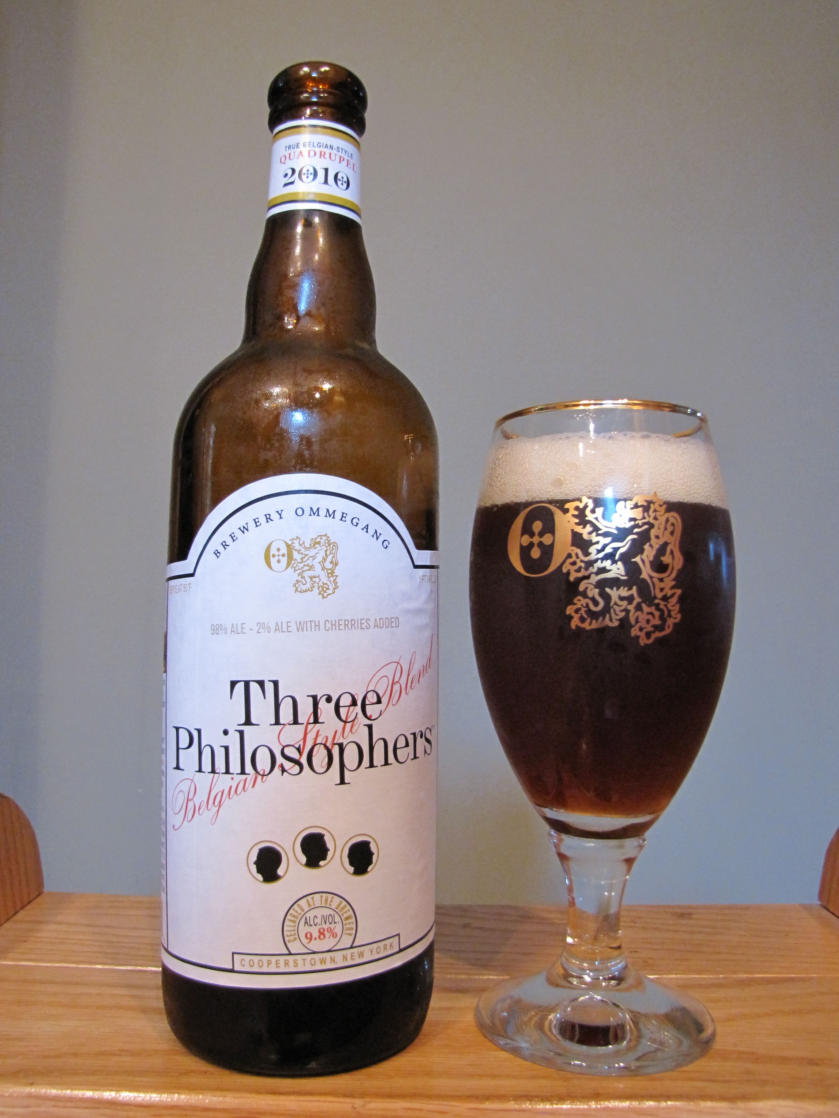 Ommegang Three Philosophers Belgian Quadrupel