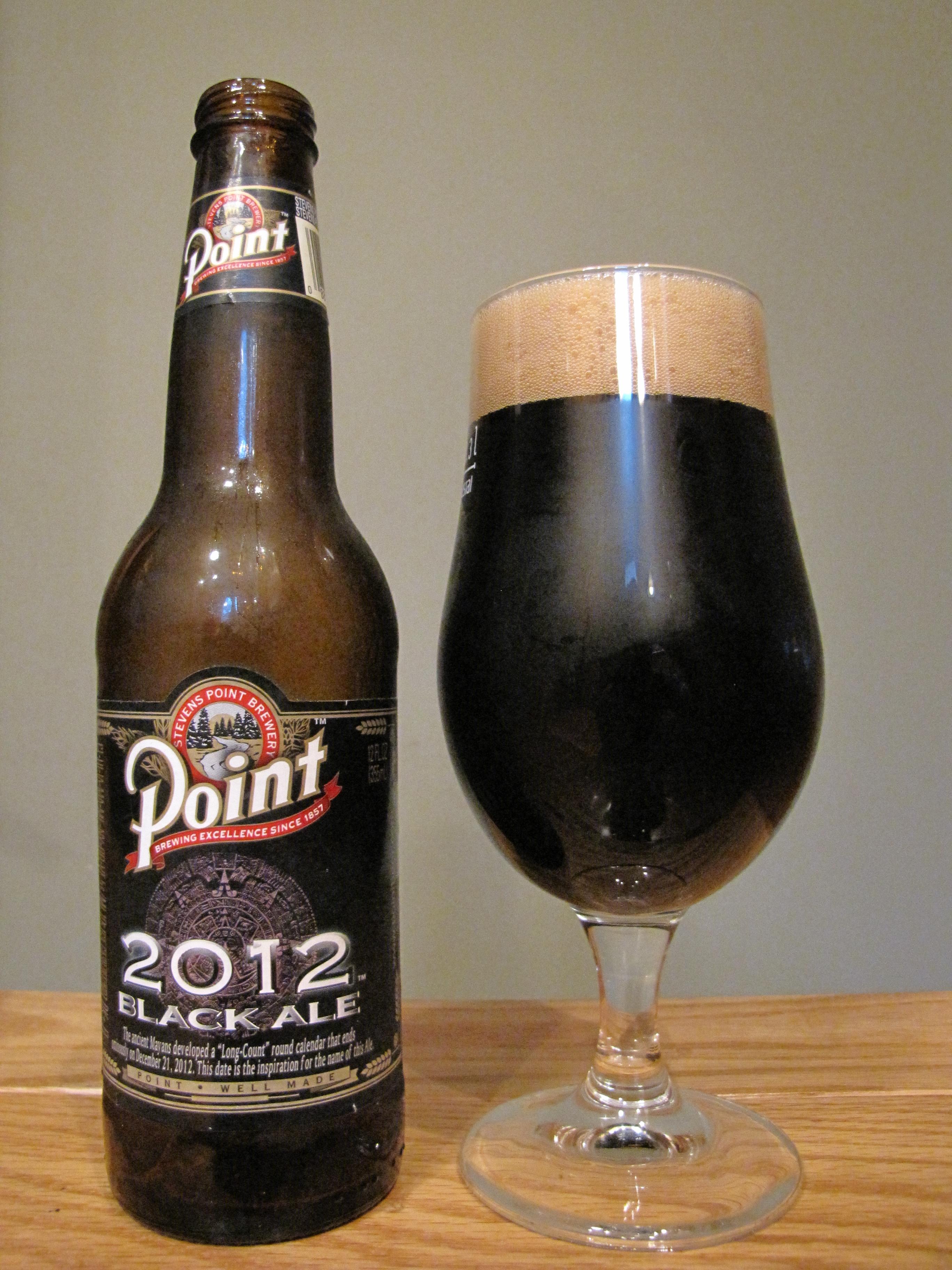 Stevens Point Black Ale (2012)