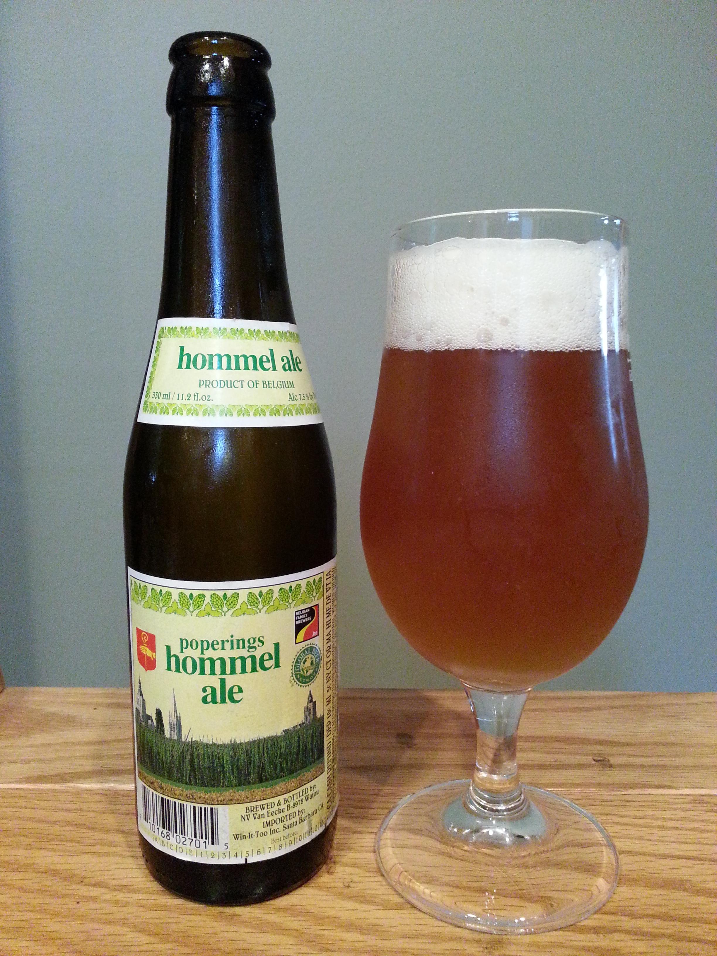Van Eecke Poperings Hommel Bier