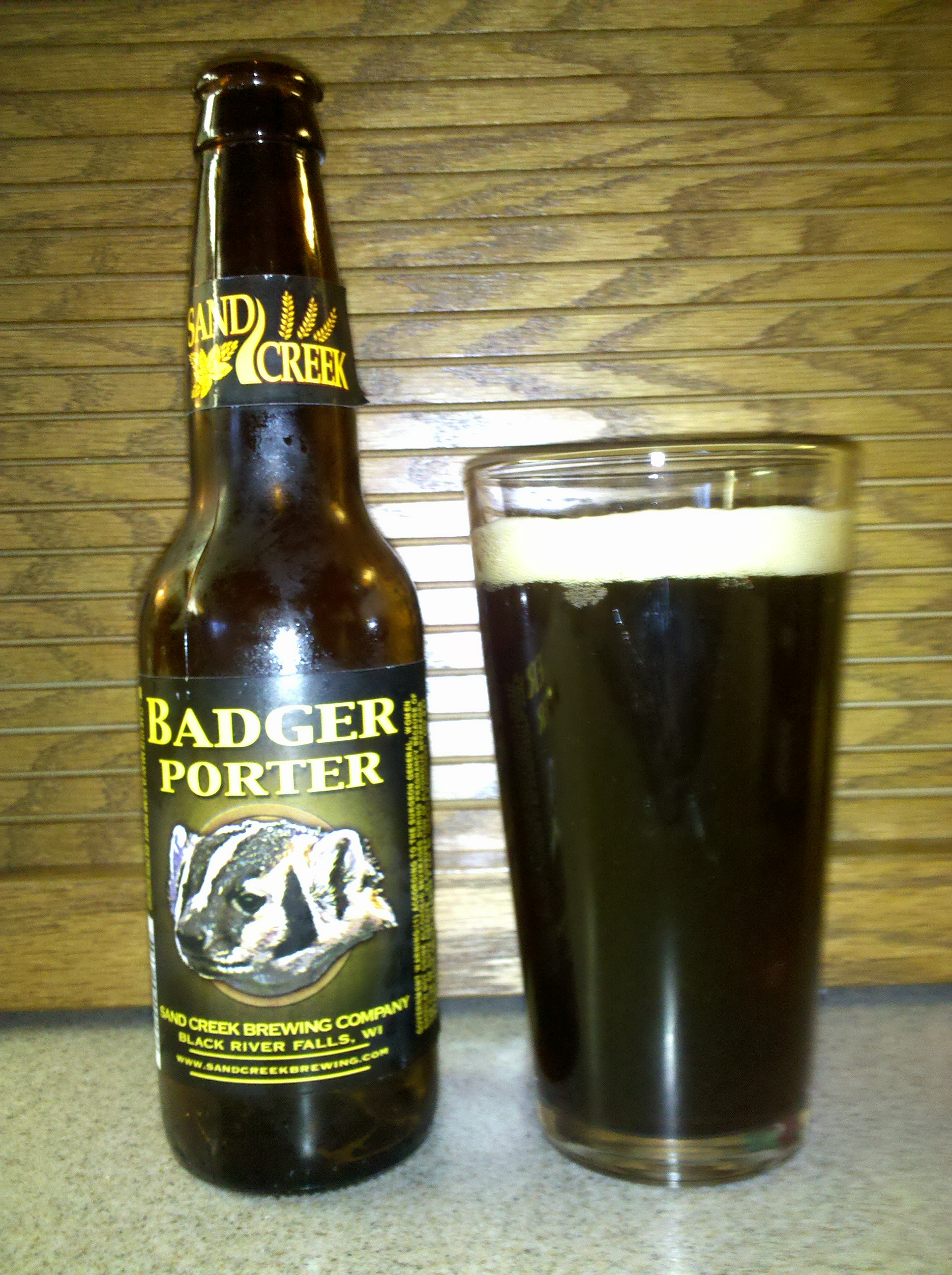 Sand Creek Badger Porter