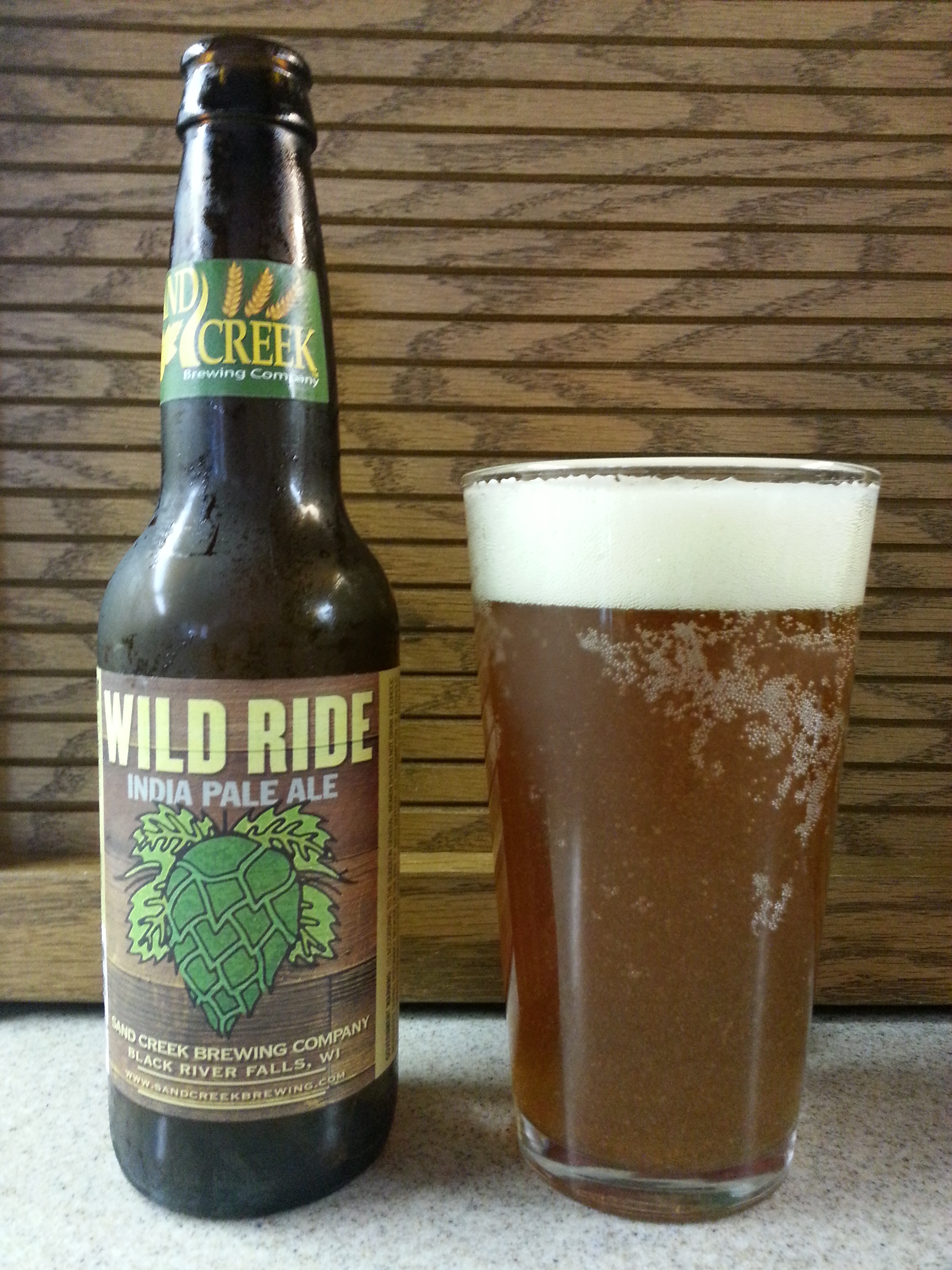 Sand Creek Wild Ride IPA