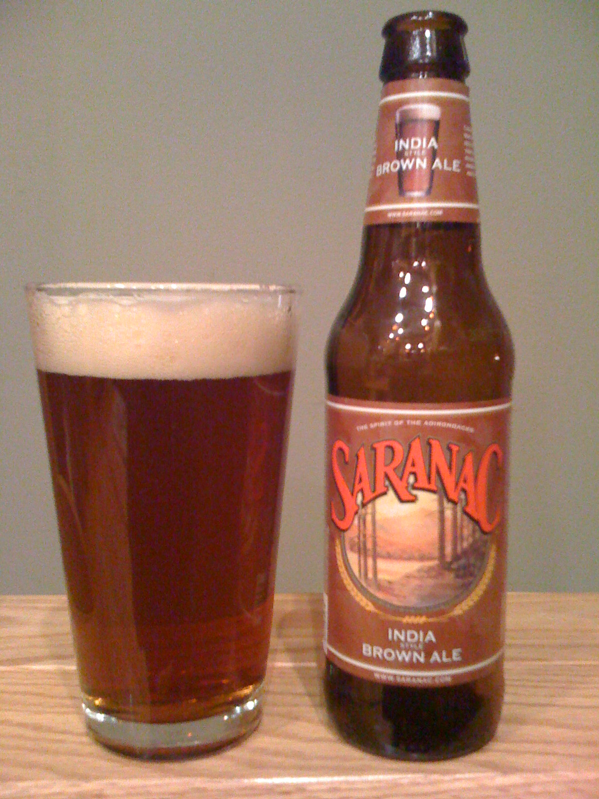 Saranac India Brown Ale