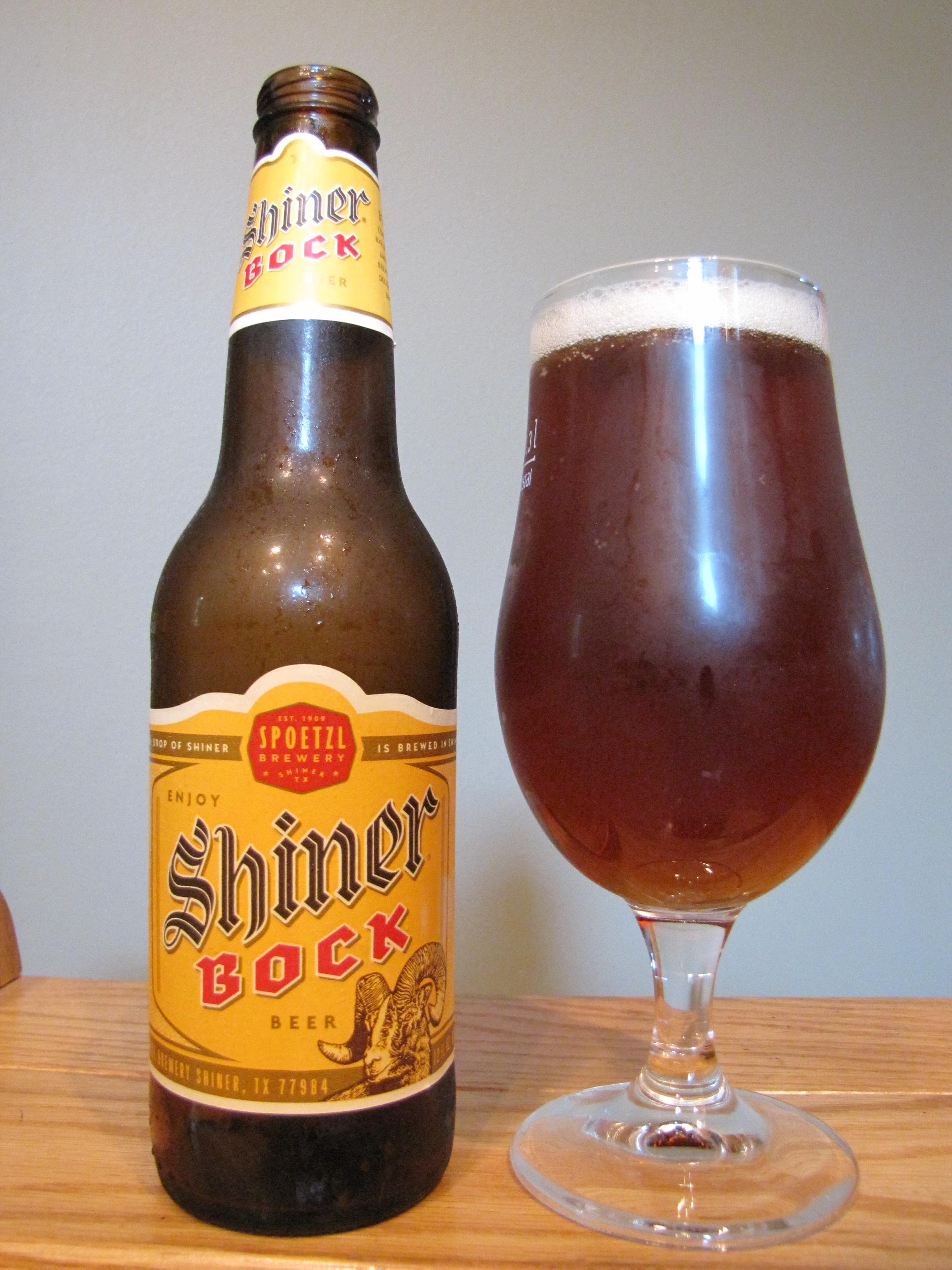 Spoetzl Shiner Bock