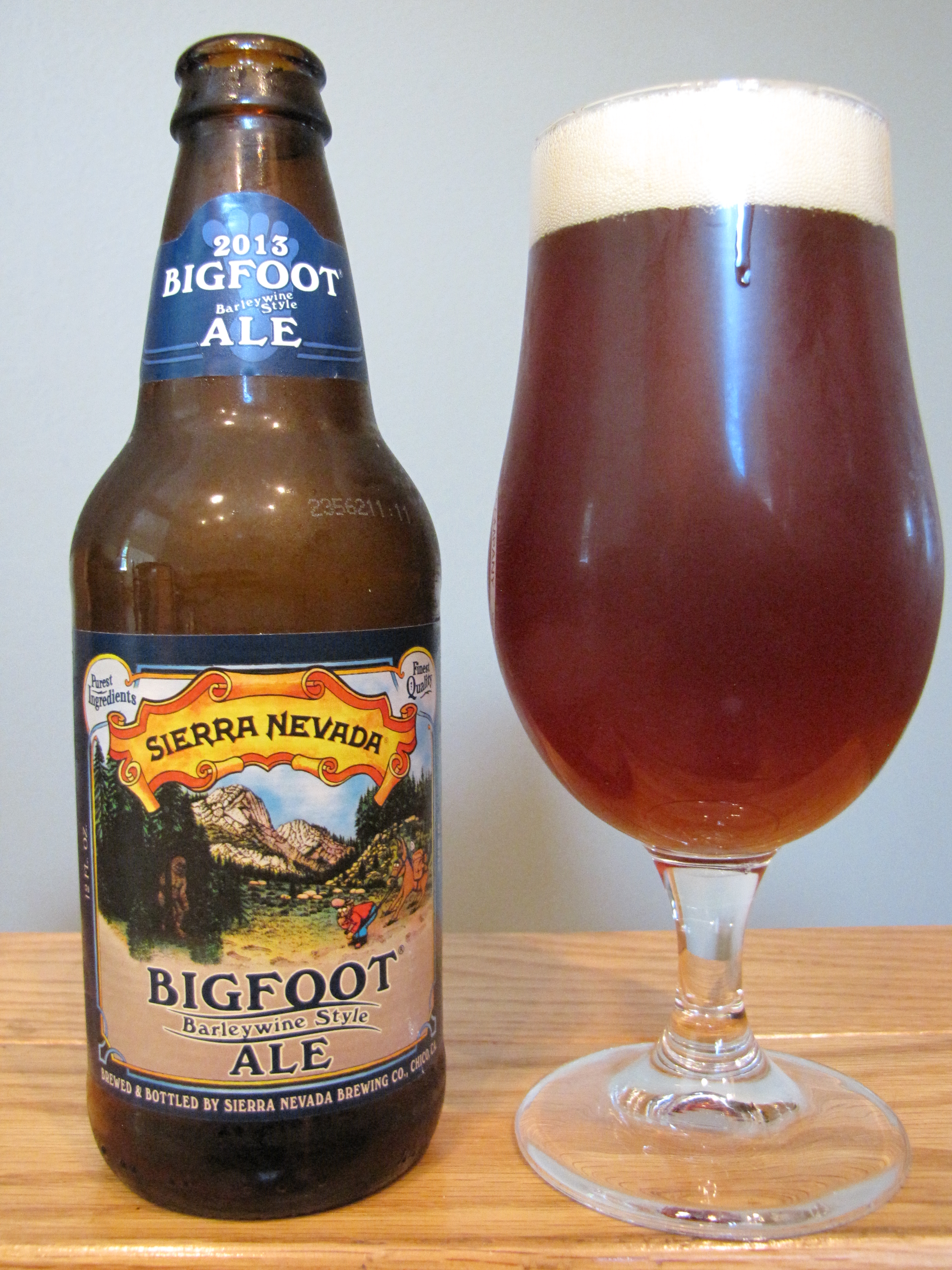 Sierra Nevada Bigfoot Barleywine (2013)