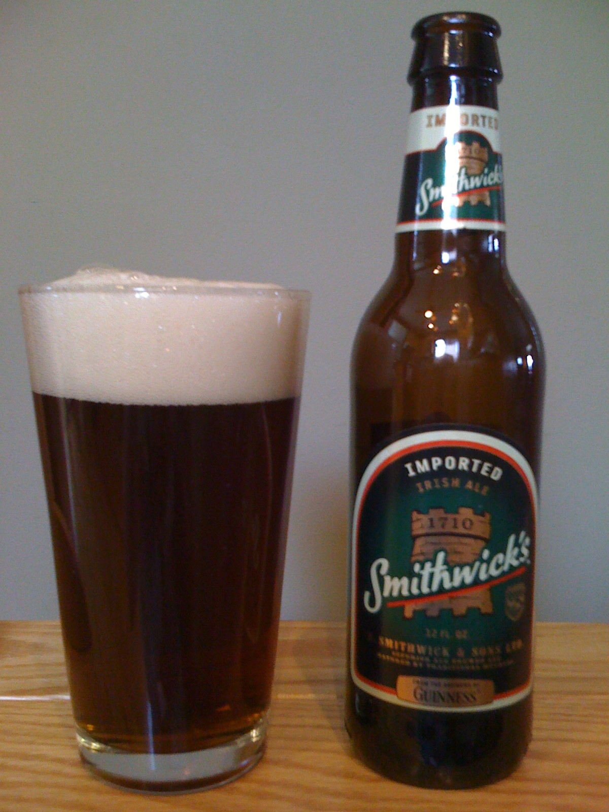 Smithwicks Irish Ale