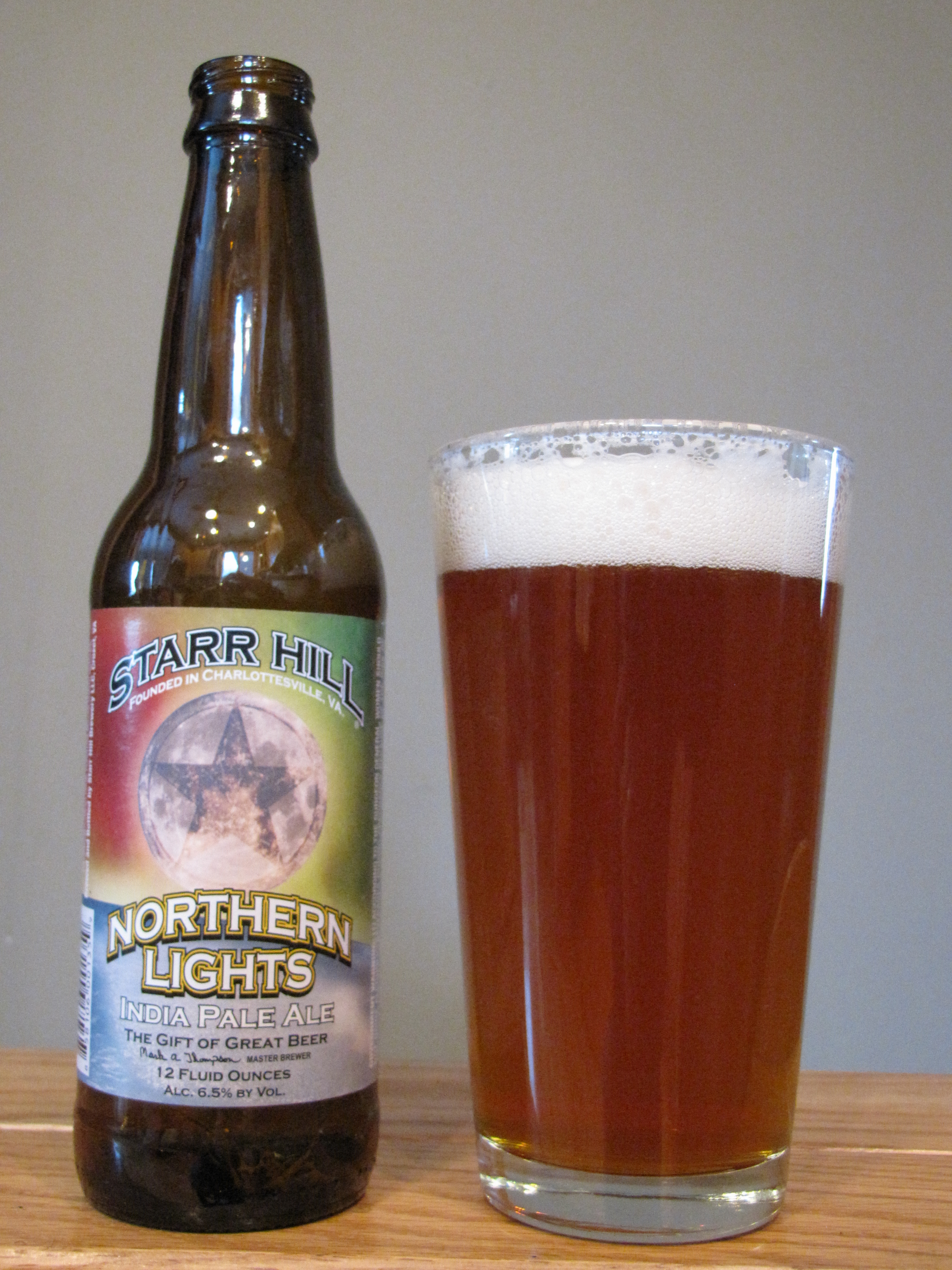 Starr Hill Northern Lights IPA