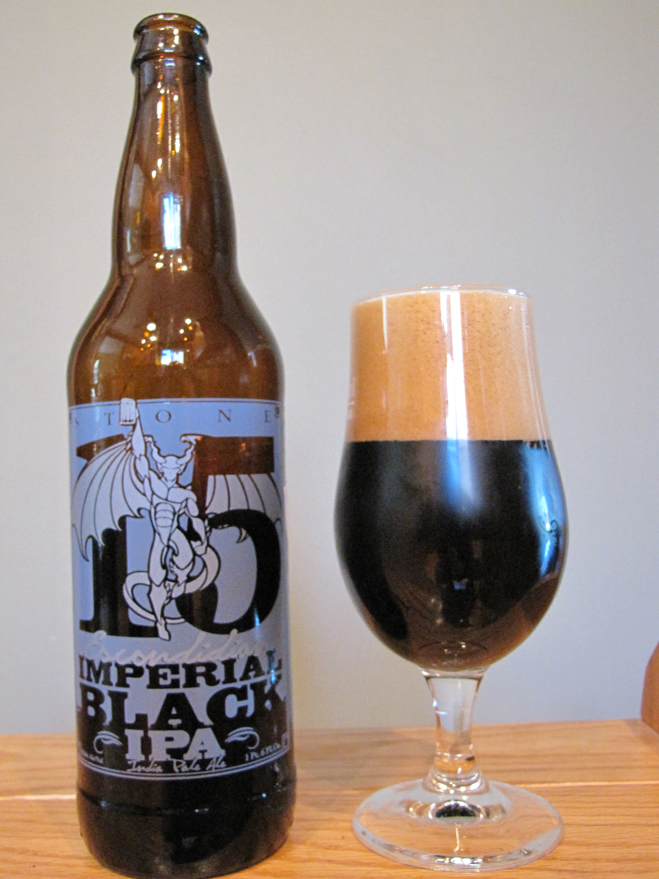 Stone 15th Anniversary Escondidian Imperial Black IPA