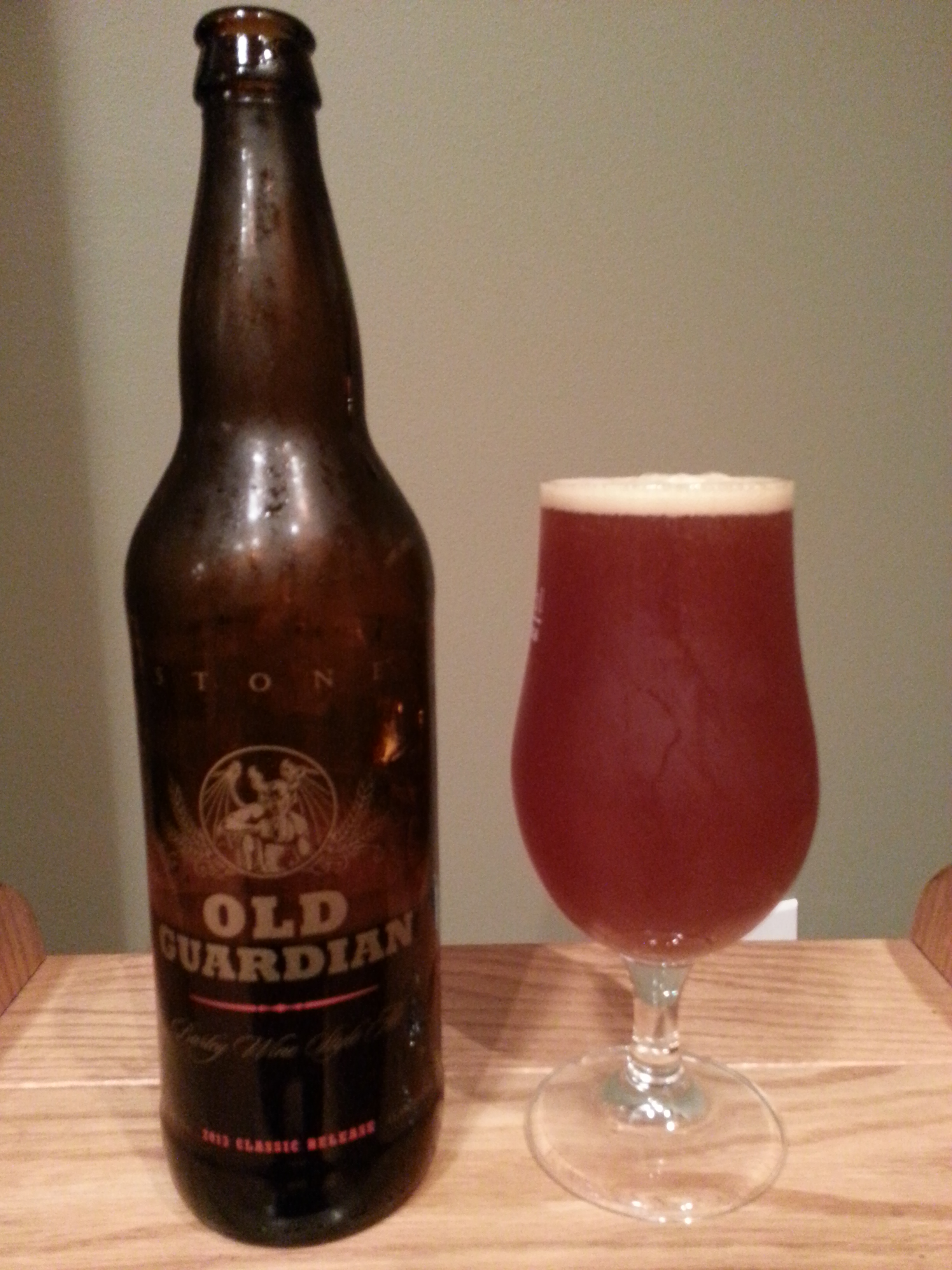 Stone Old Guardian Barley Wine Style Ale