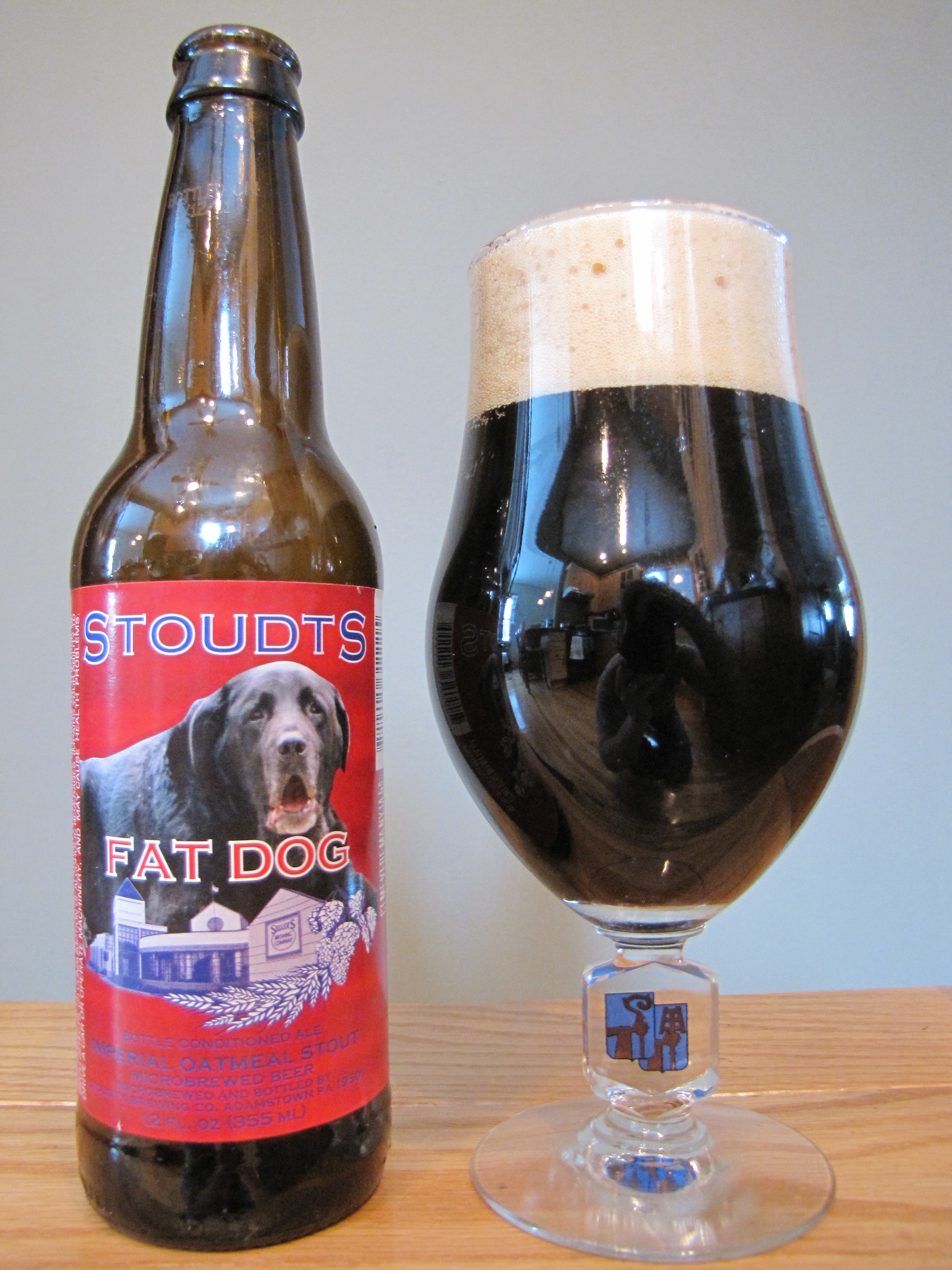 Stoudt's Fat Dog Imperial Oatmeal Stout