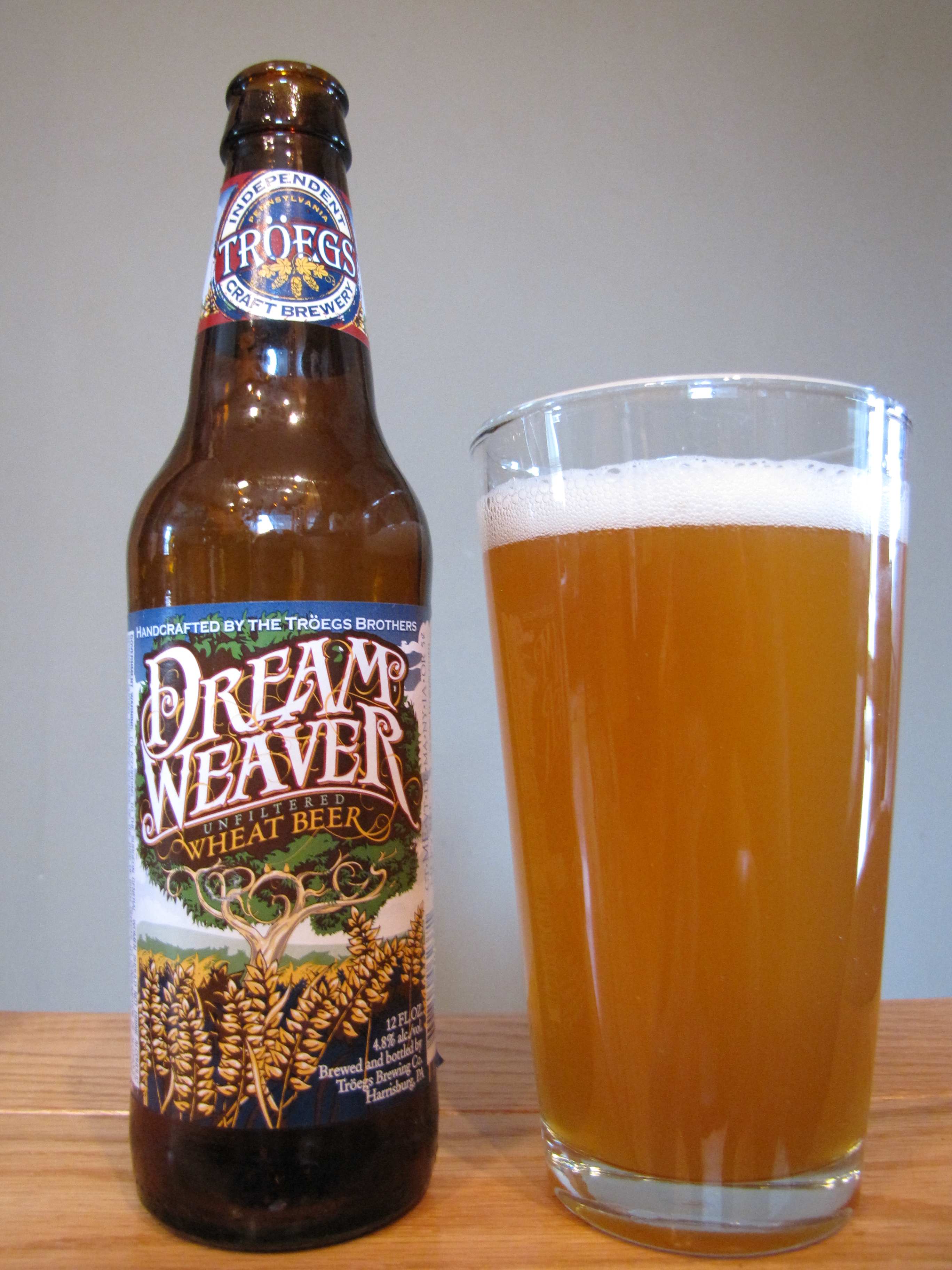 Tröegs Dream Weaver Wheat