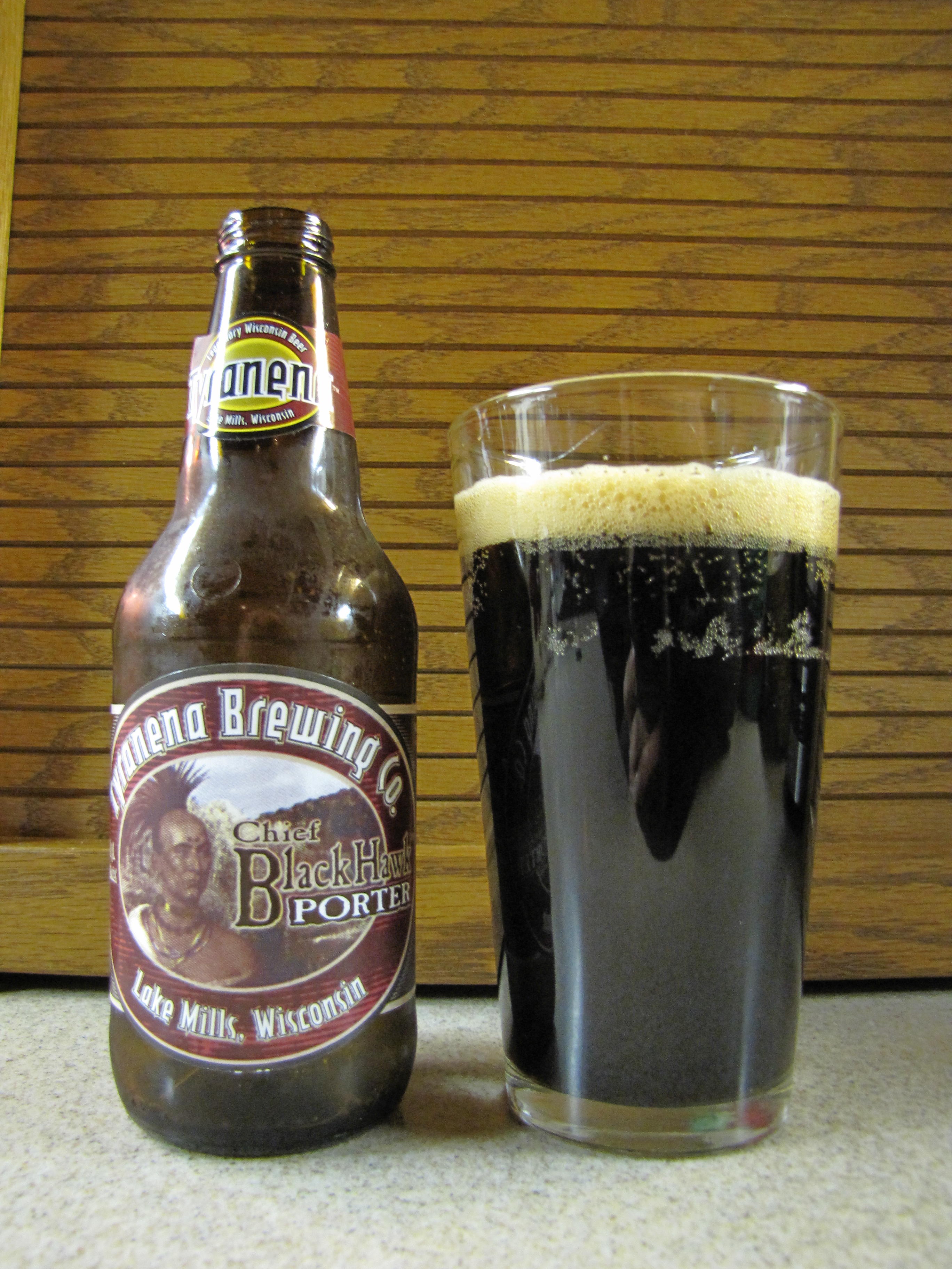 Tyranena Chief BlackHawk Porter