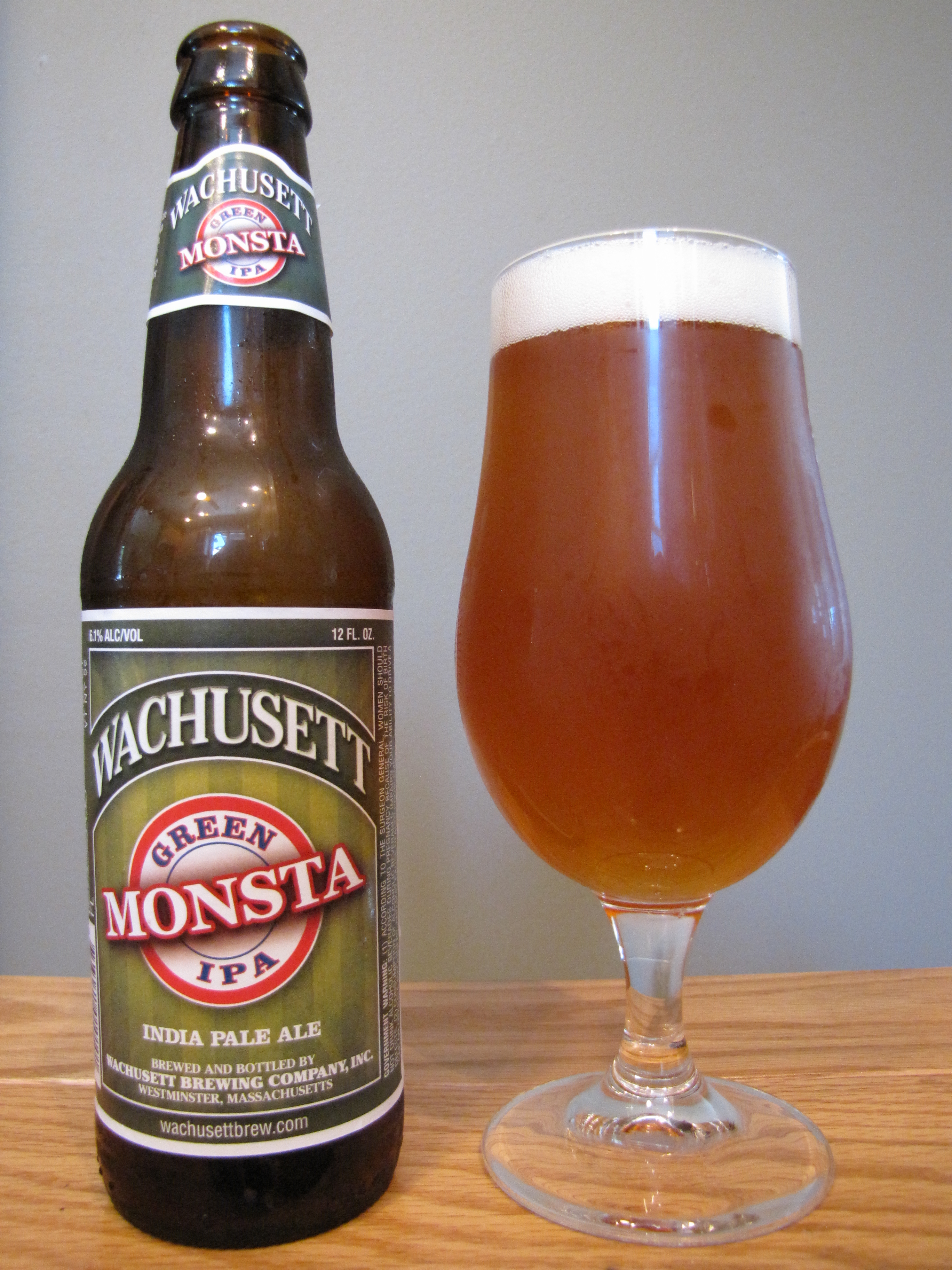 Wachusett Green Monsta IPA