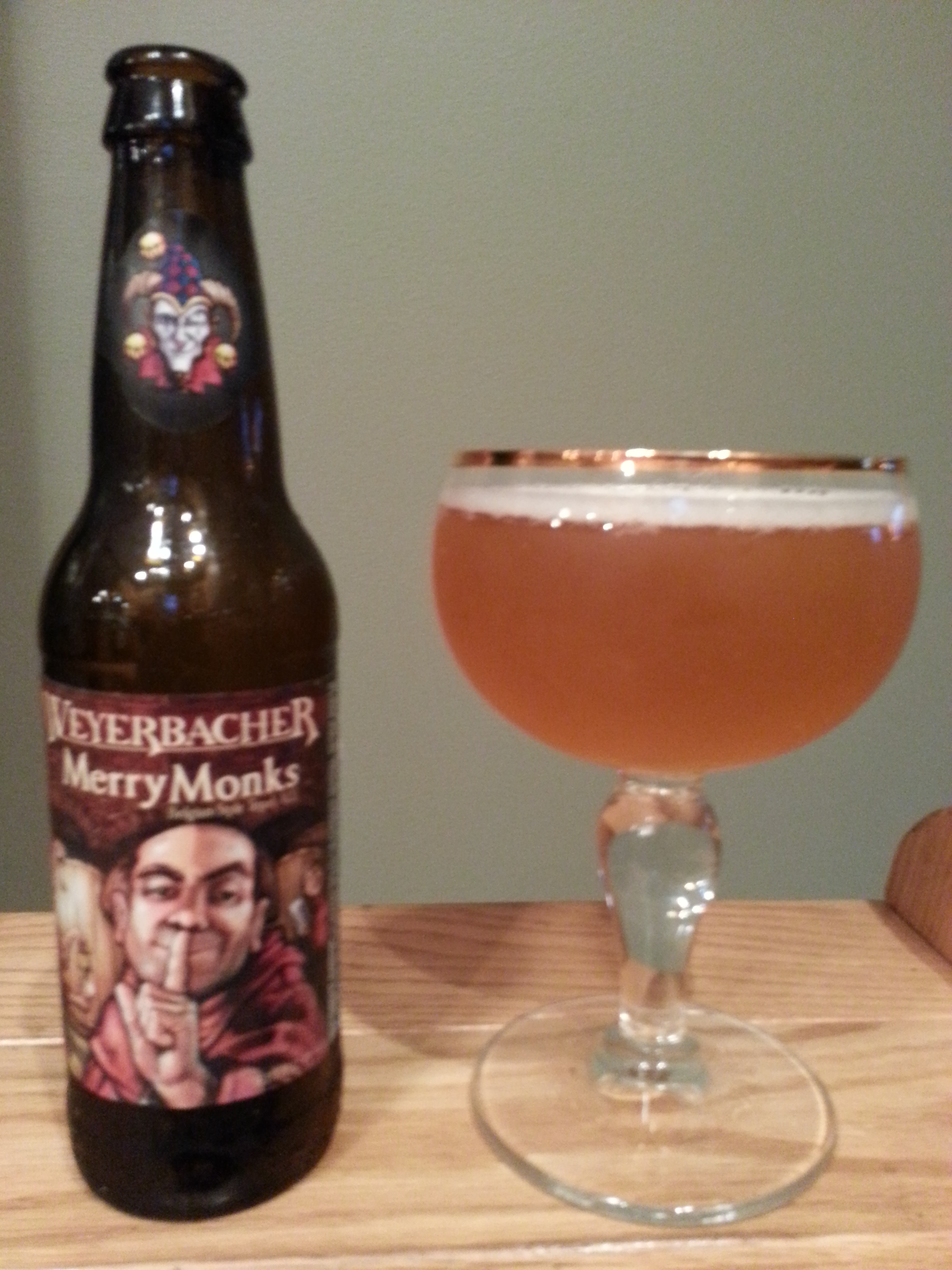 Weyerbacher Merry Monks' Ale