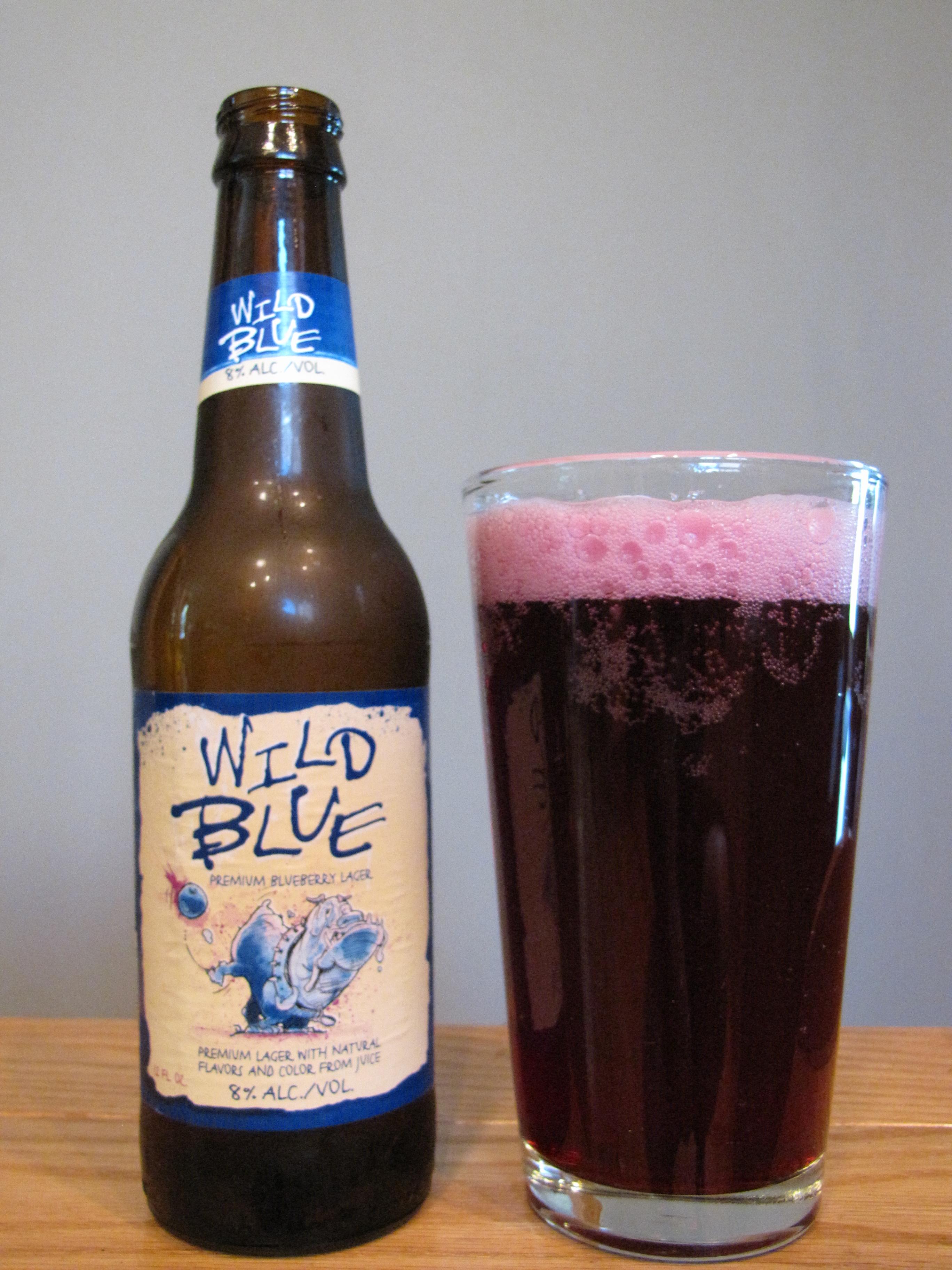 Anheuser-Busch Wild Blue Blueberry Lager
