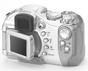 Canon PowerShot S1 IS back view