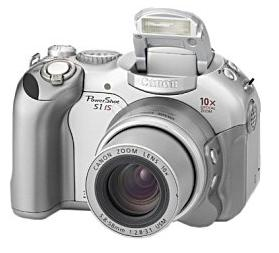 Canon PowerShot S1 IS front view