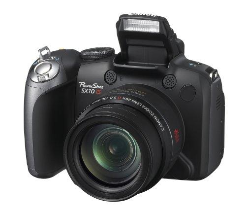 Canon PowerShot SX10 IS front view