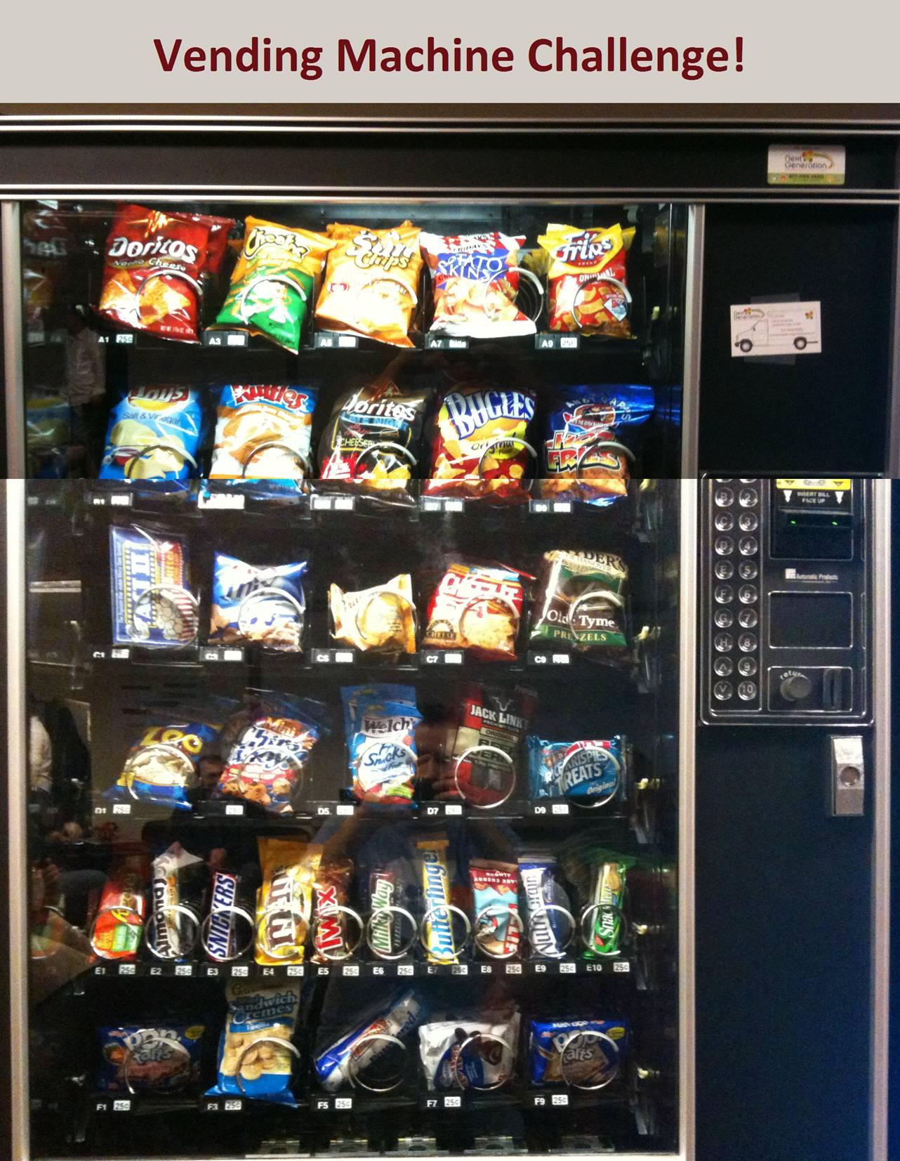 The Vending Machine Challenge!