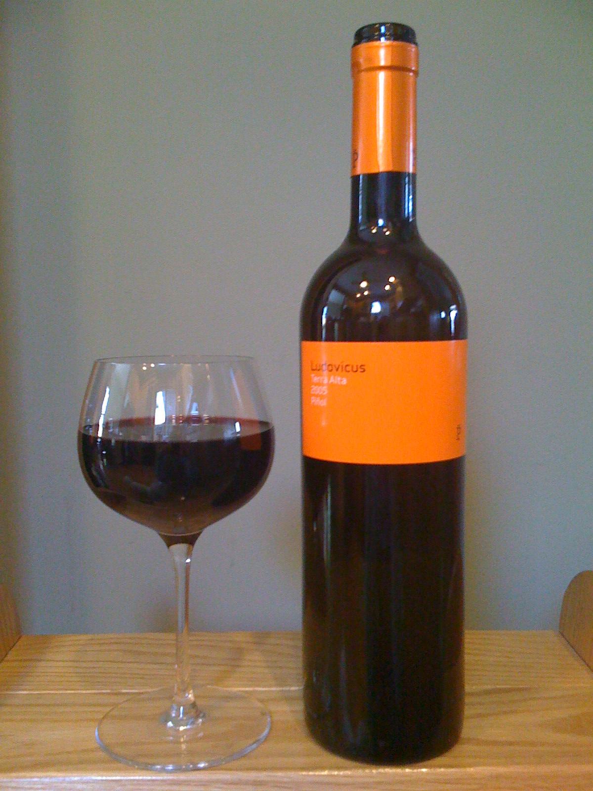 Vinos Piñol Terra Alta Ludovicus (2005)