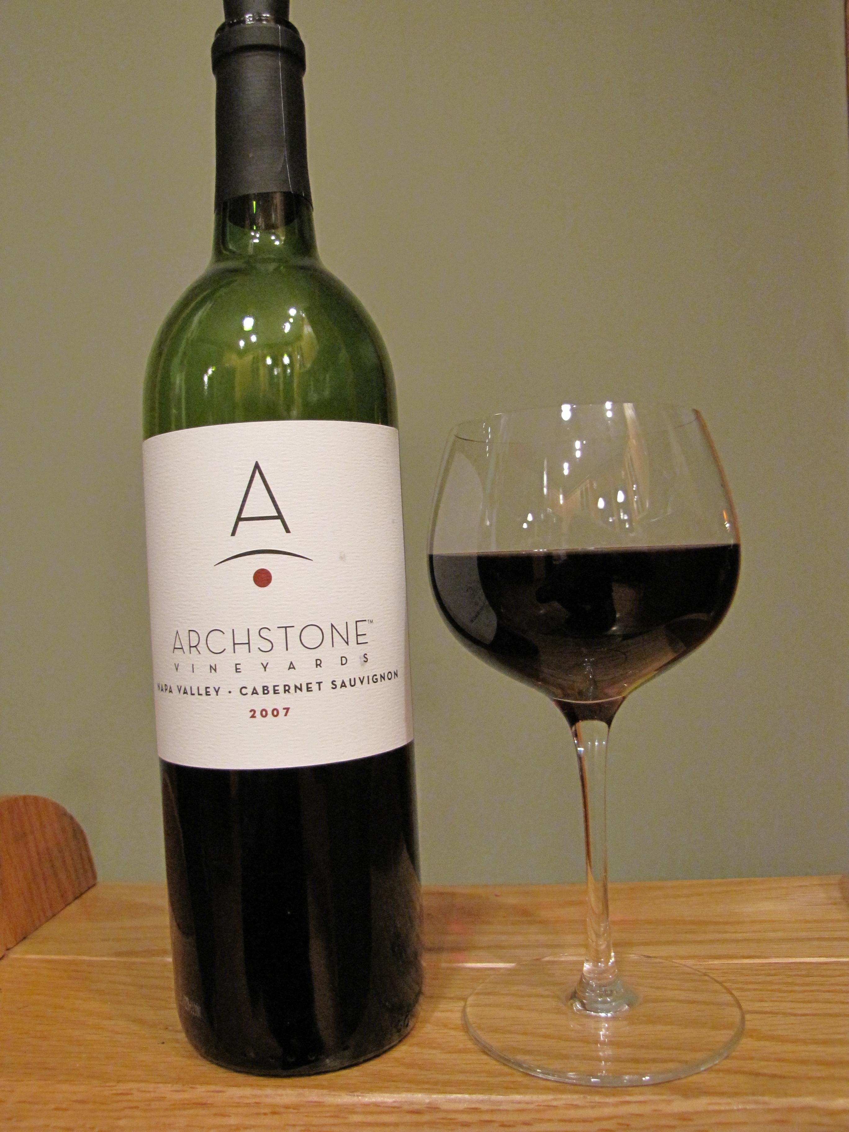 Archstone Cabernet Sauvignon (2007)