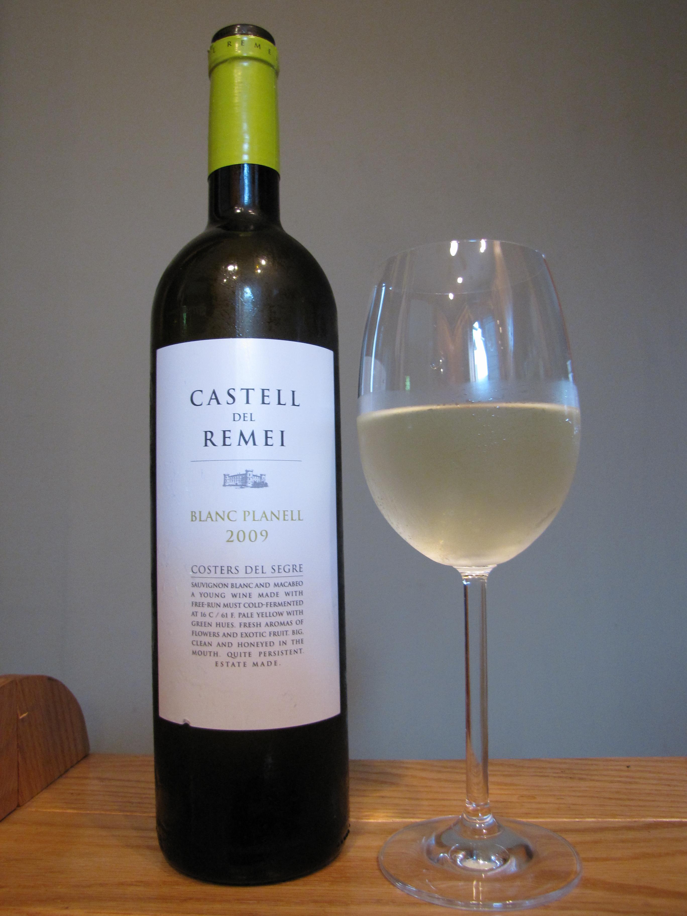 Castell del Remei Costers del Segre Blanc Planell (2009)